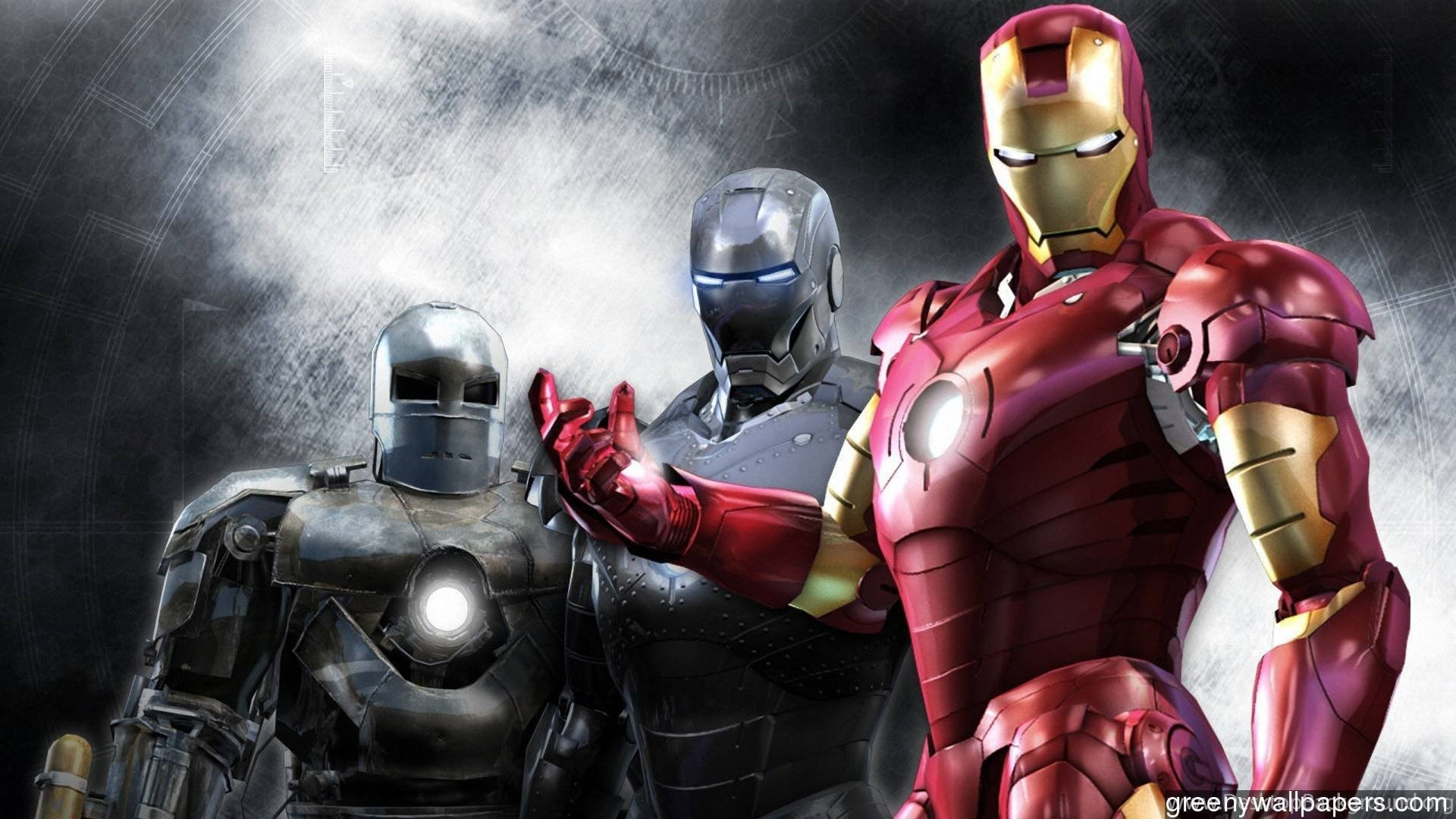 download iron man 3 suits backgrounds hd 1920x1080 wallpapers