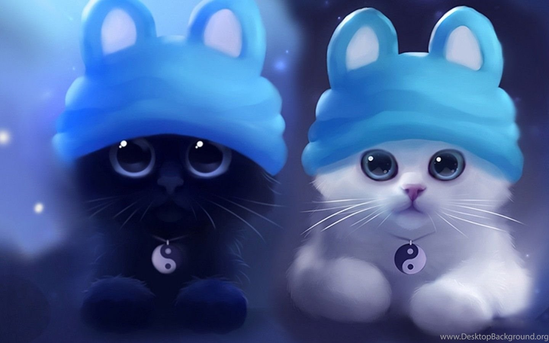Cat Love Hd Wallpaper Download