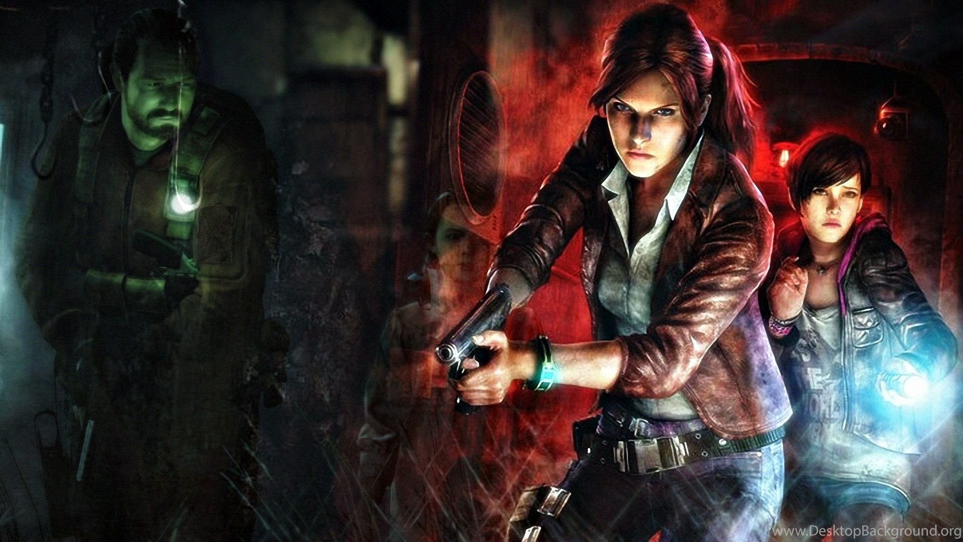 2 Resident Evil: Revelations 2 HD Wallpapers Desktop Background