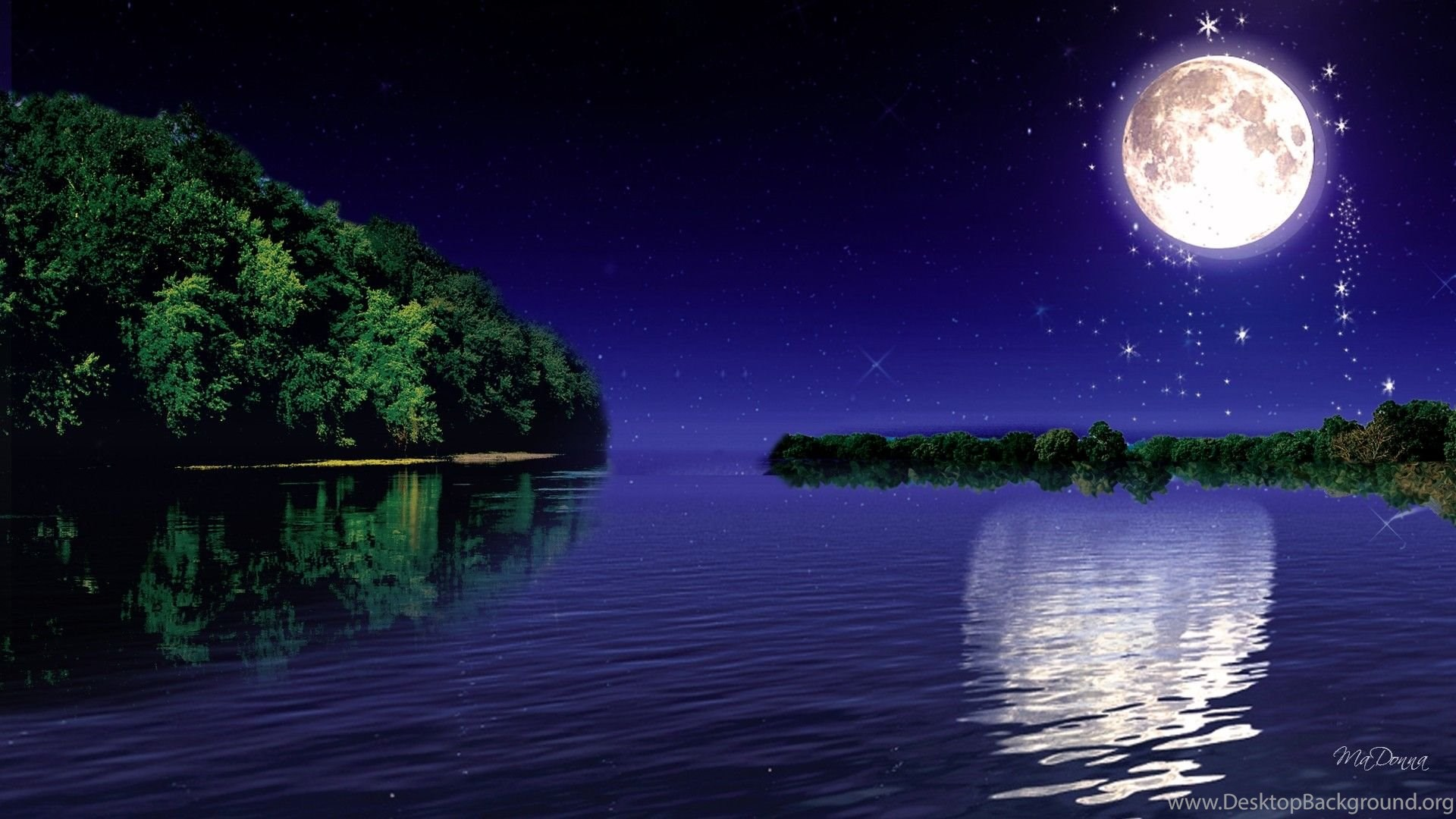 Moonlight Wallpapers Desktop Background