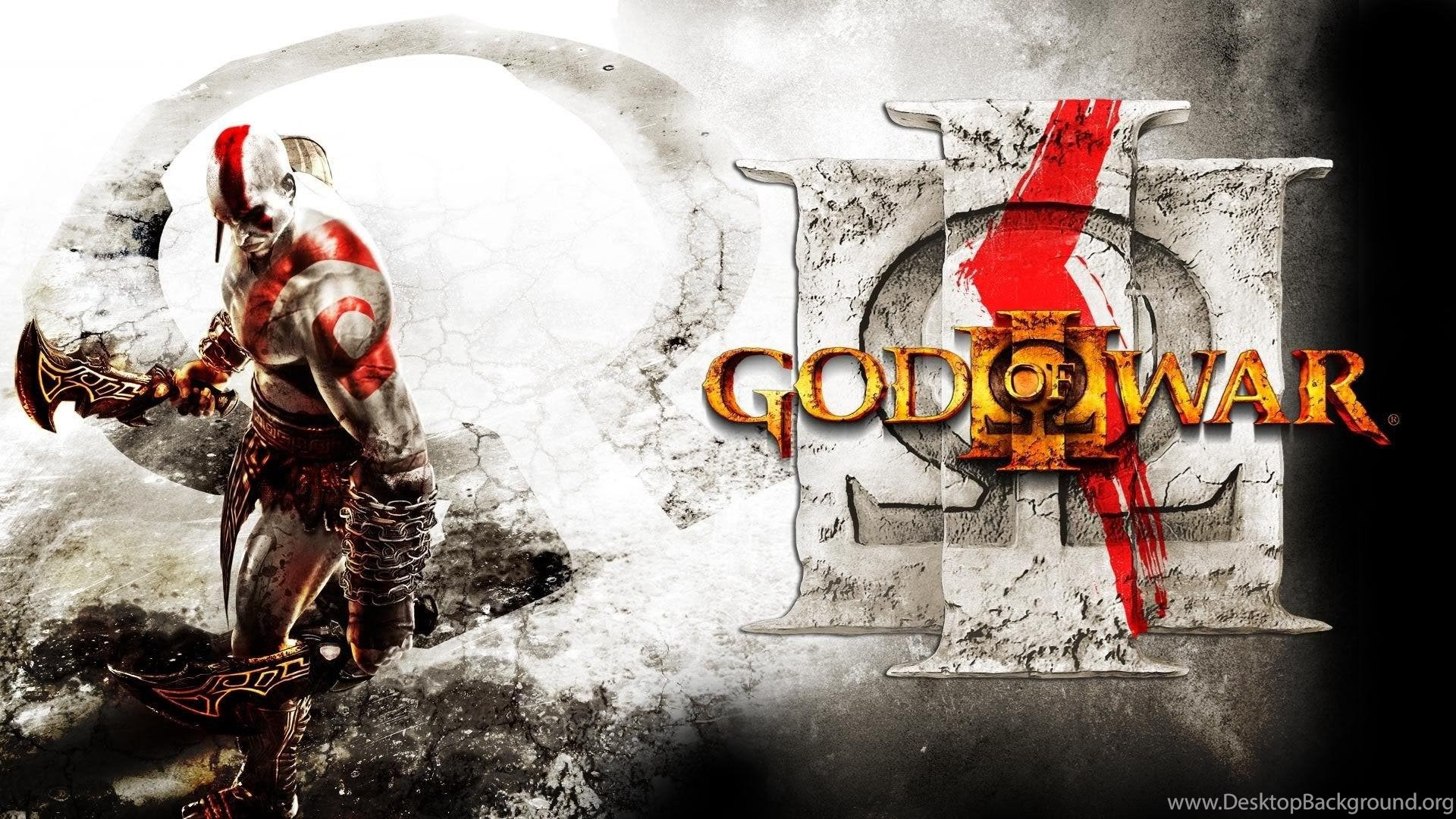 Kratos God Of War Iii Hd Desktop Wallpapers Widescreen High