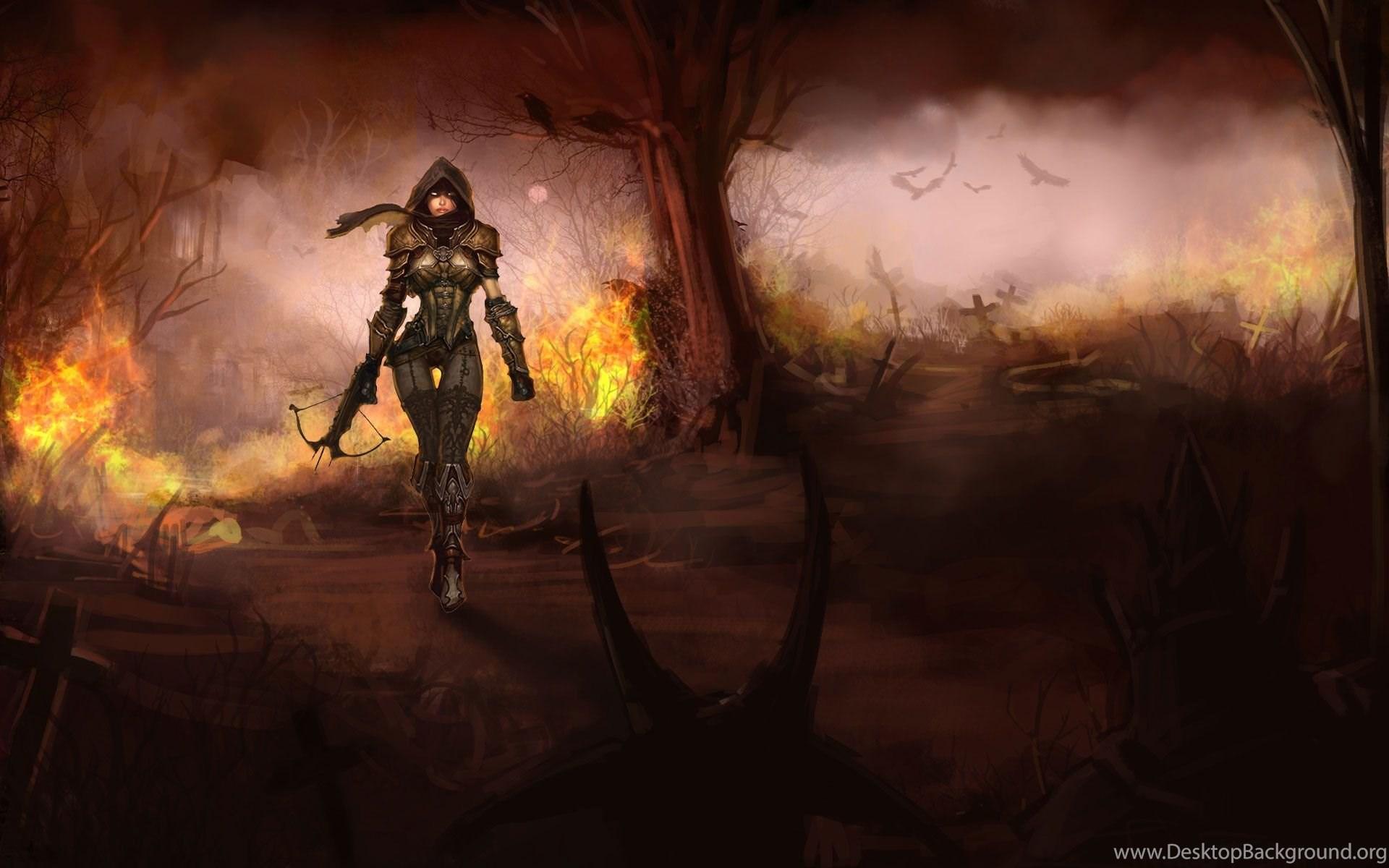 Diablo 3 Demon Hunter Wallpapers 199863 Desktop Background