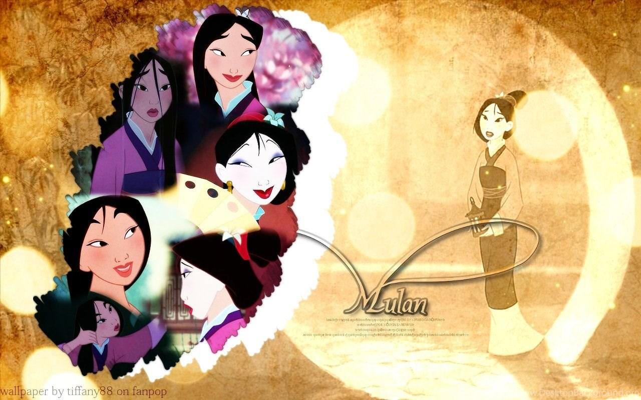 Mulan Disney Princess Wallpaper Desktop Background