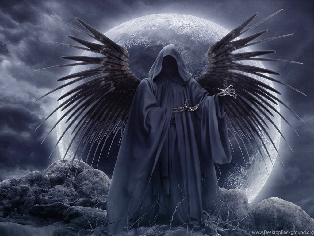 wallpapers gothic angel free screensavers 1024x768 desktop background