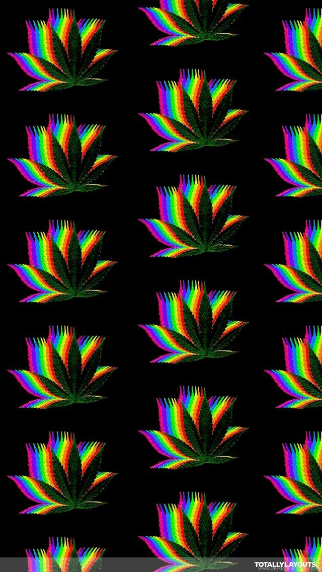 Rainbow Weed Iphone Wallpapers Random Wallpapers Desktop Background