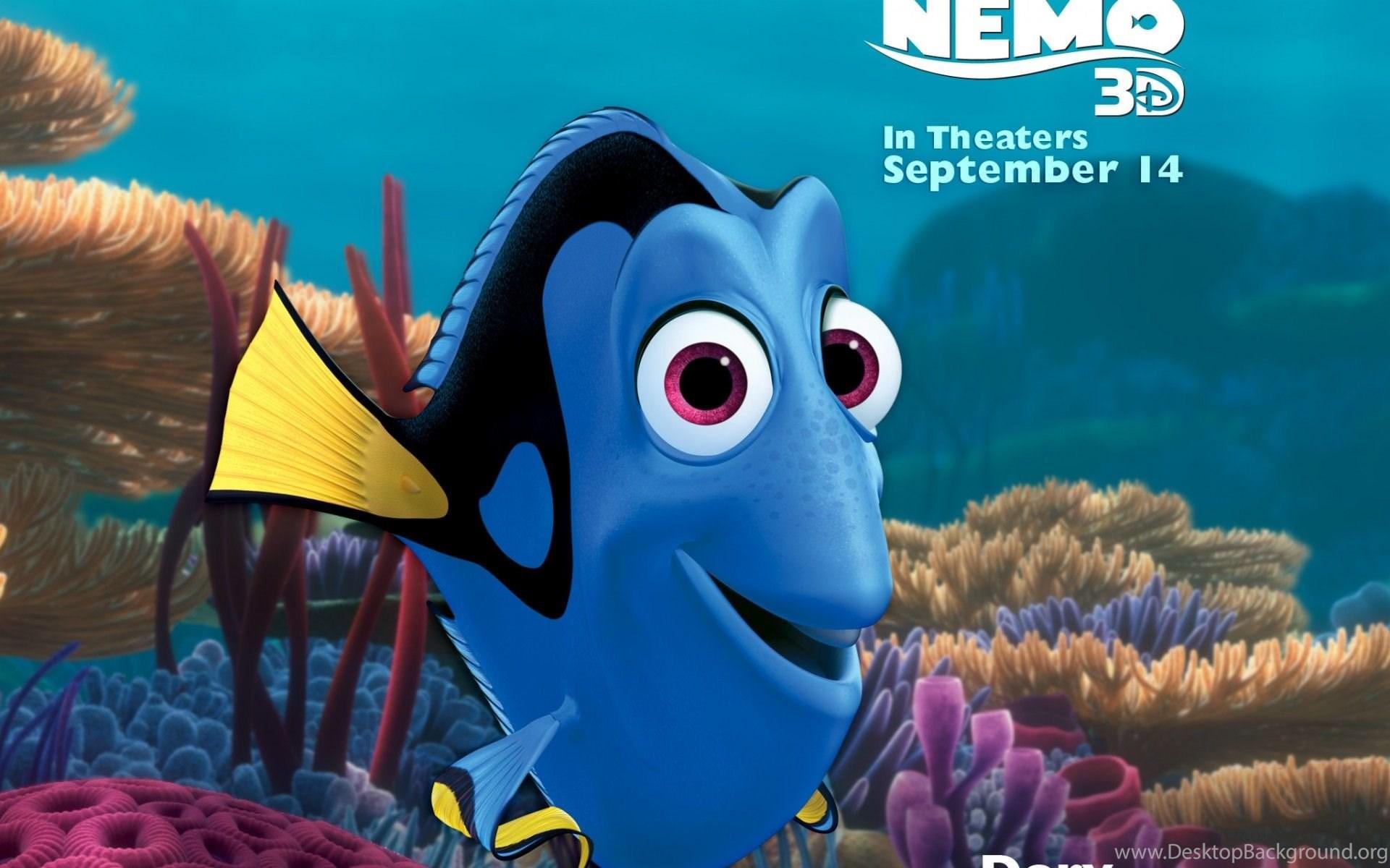 Download Finding Nemo Dory Wallpapers Desktop Background