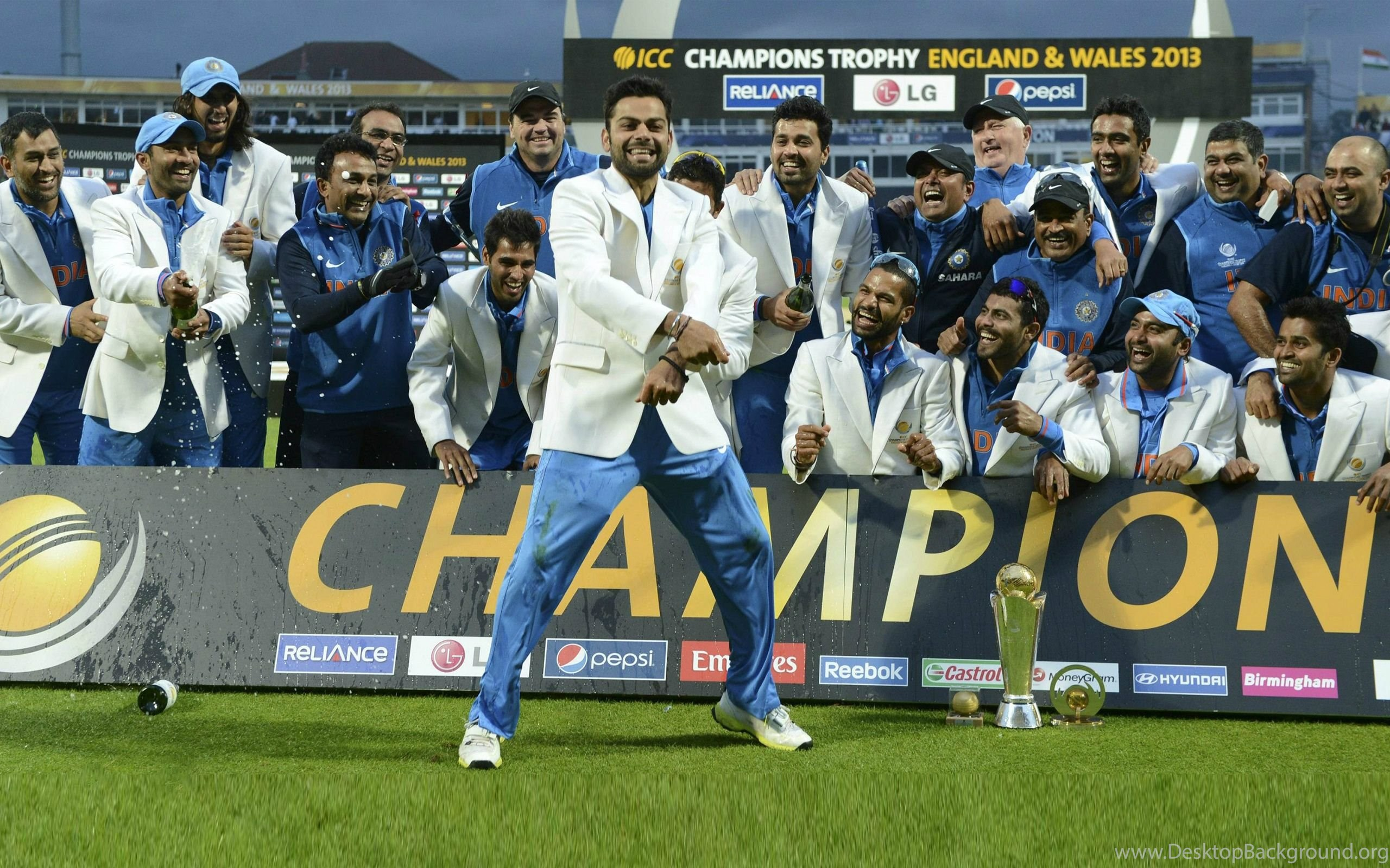 Indian Cricket Team Champion Celebrate Hd Wallpapers Desktop Background