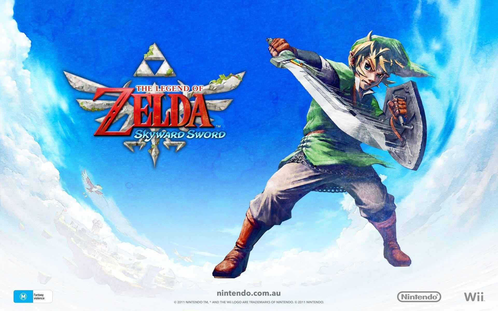 Legend Of Zelda Skyward Sword Wallpapers 977793 Desktop Background