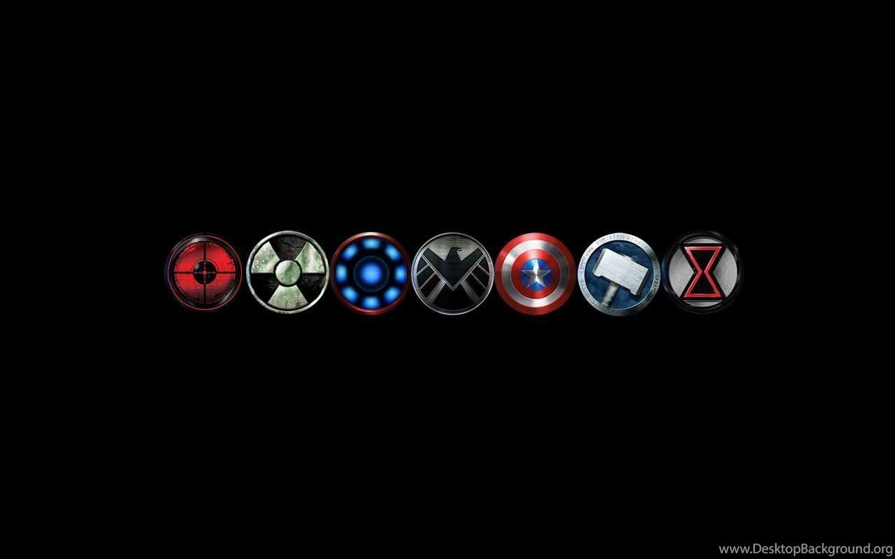 Avengers Logo Wallpapers Wallpapers Cave Desktop Background