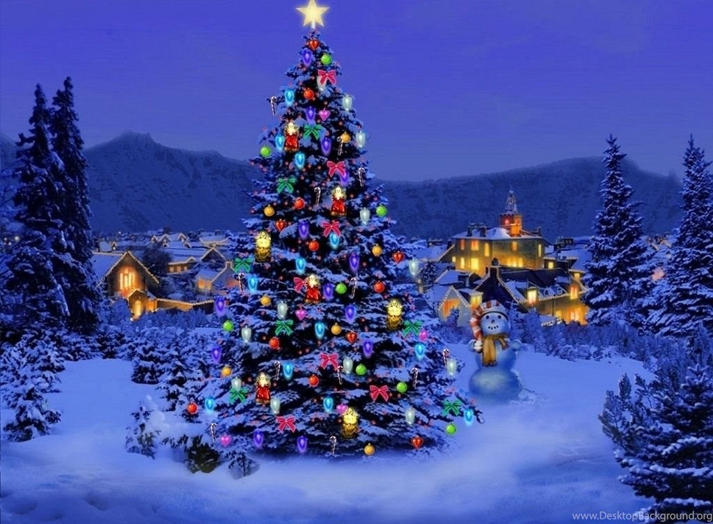 Animated Christmas Wallpapers Desktop Tumblr HD Merry Background