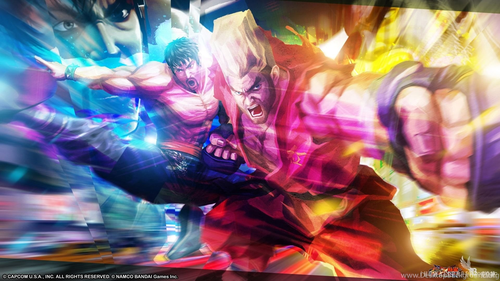 Law Paul Street Fighter X Tekken Hd Wallpapers Ihd Wallpapers