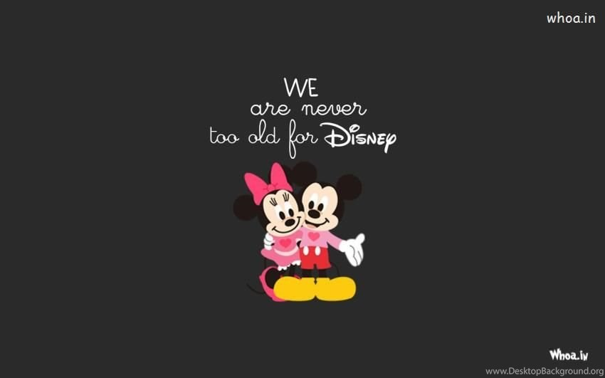 Mickey Mouse And Minnie Mouse Hd Wallpapers Desktop Background