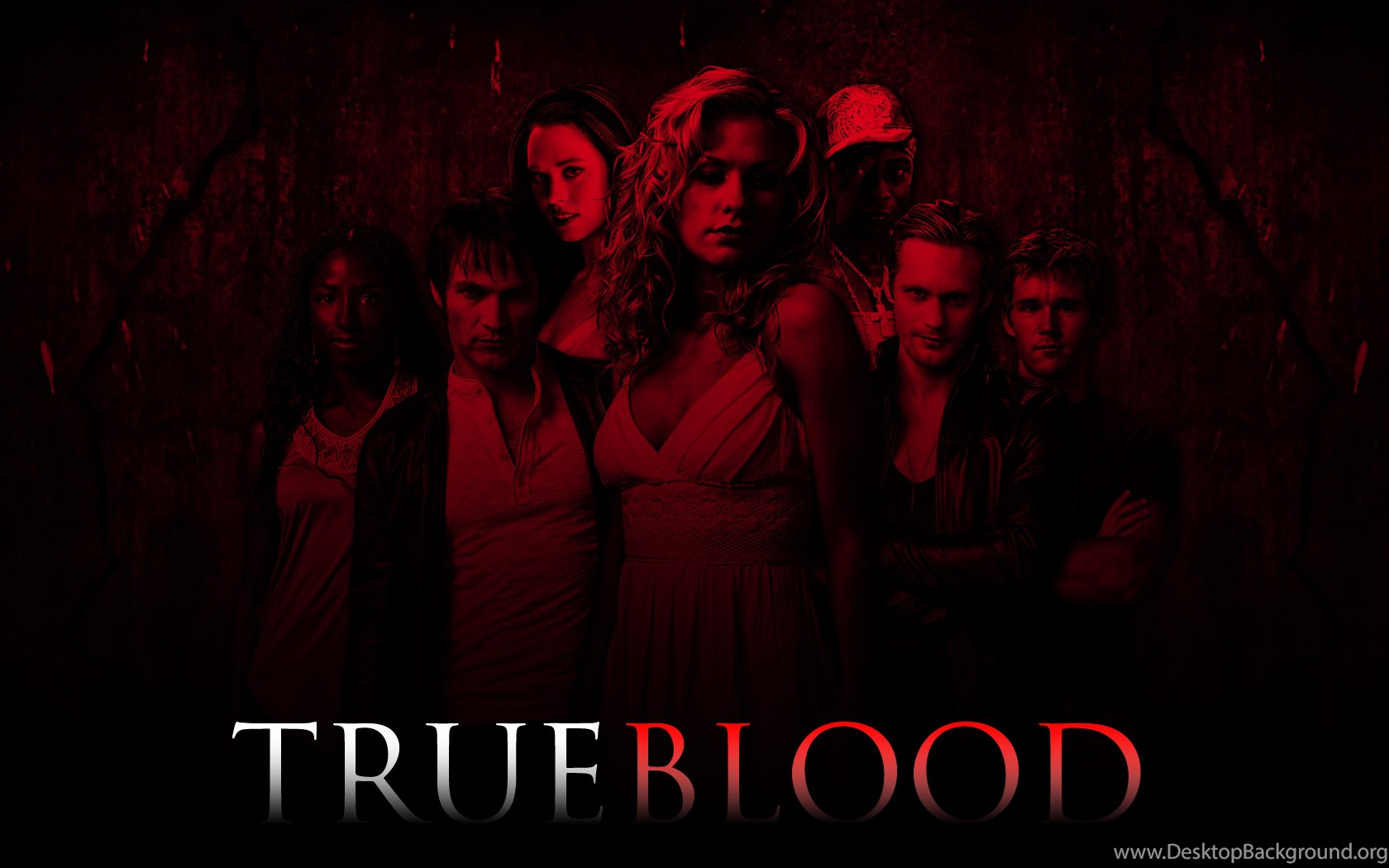 True Blood Wallpapers V2 Red By TwistedEffect On DeviantArt Desktop