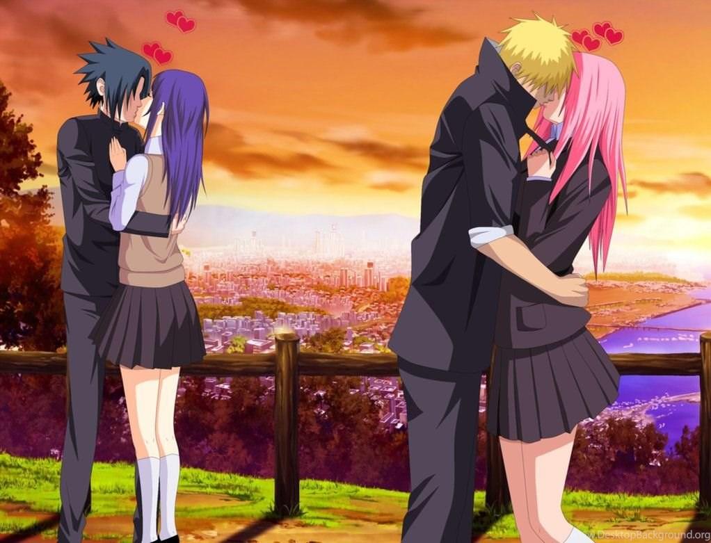 Hinata kissing and naruto When Do