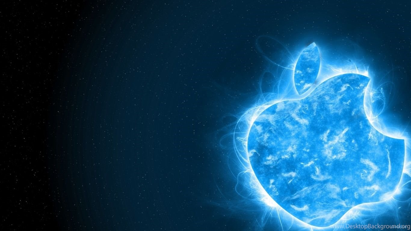 1366x768 blue apple desktop pc and mac wallpapers desktop background
