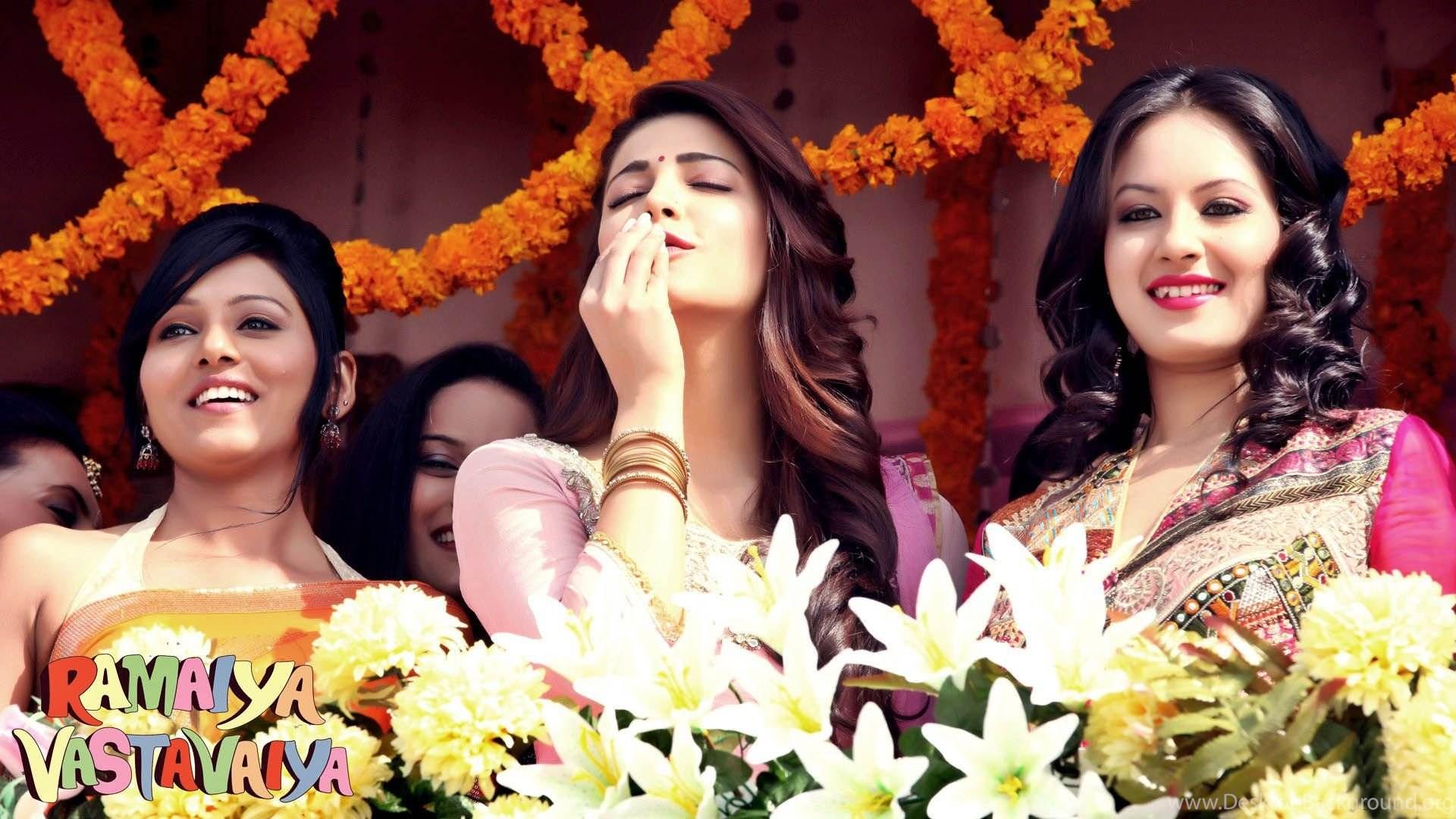 bollywood movie ramaiya vastavaiya heroines hd wallpapers desktop