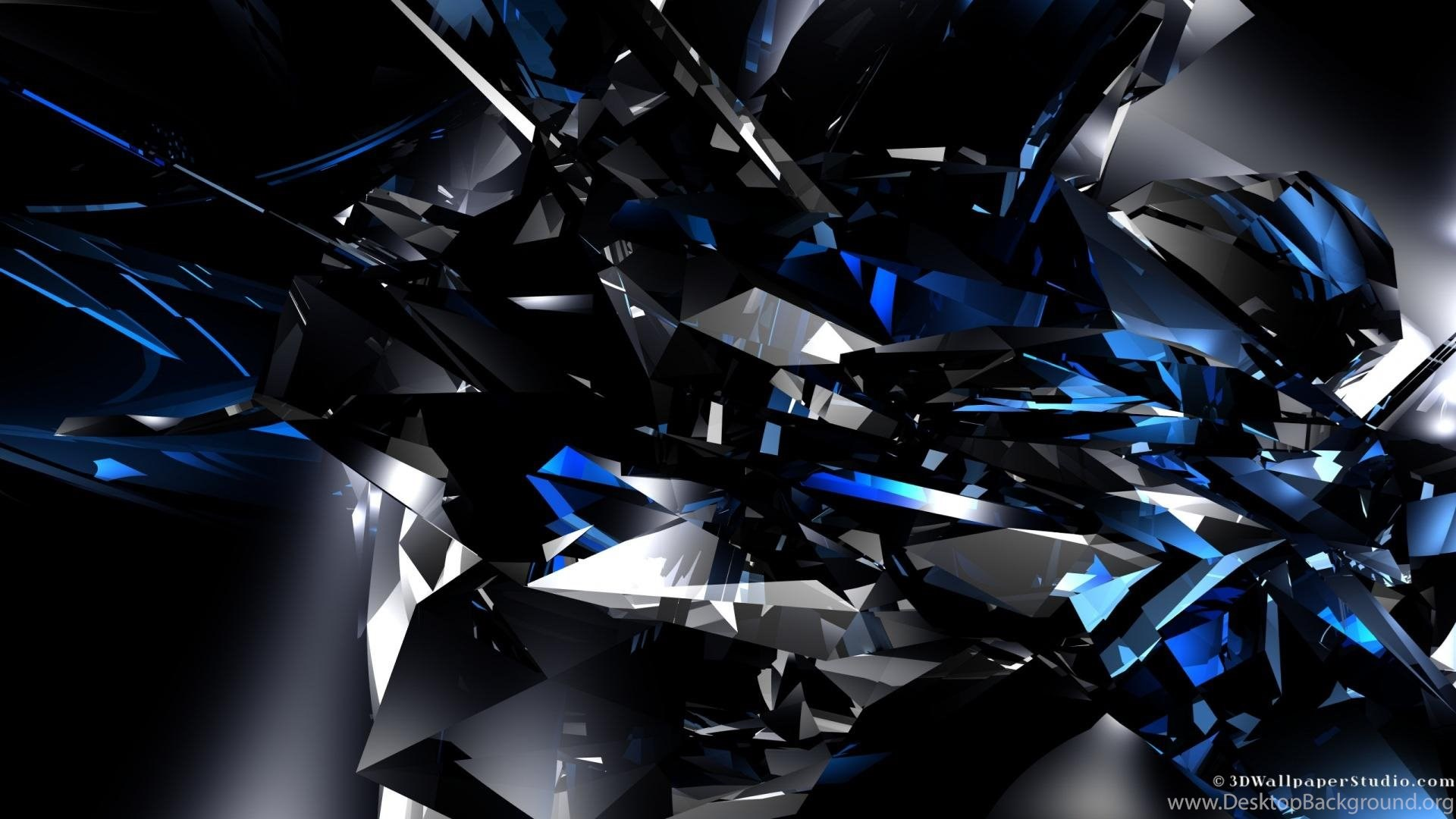 Dark Blue Wallpapers 1920 1080 Crystal Wallpapers Blue Color Hd