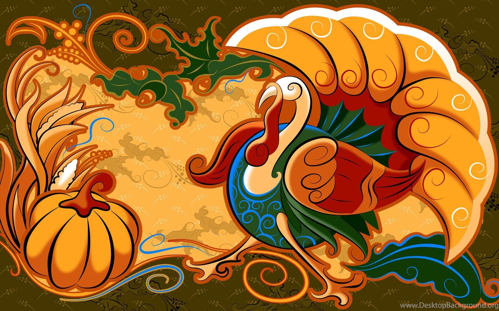 Cute thanksgiving wallpapers and theme for windows 10 desktop widescreen voltagebd Images