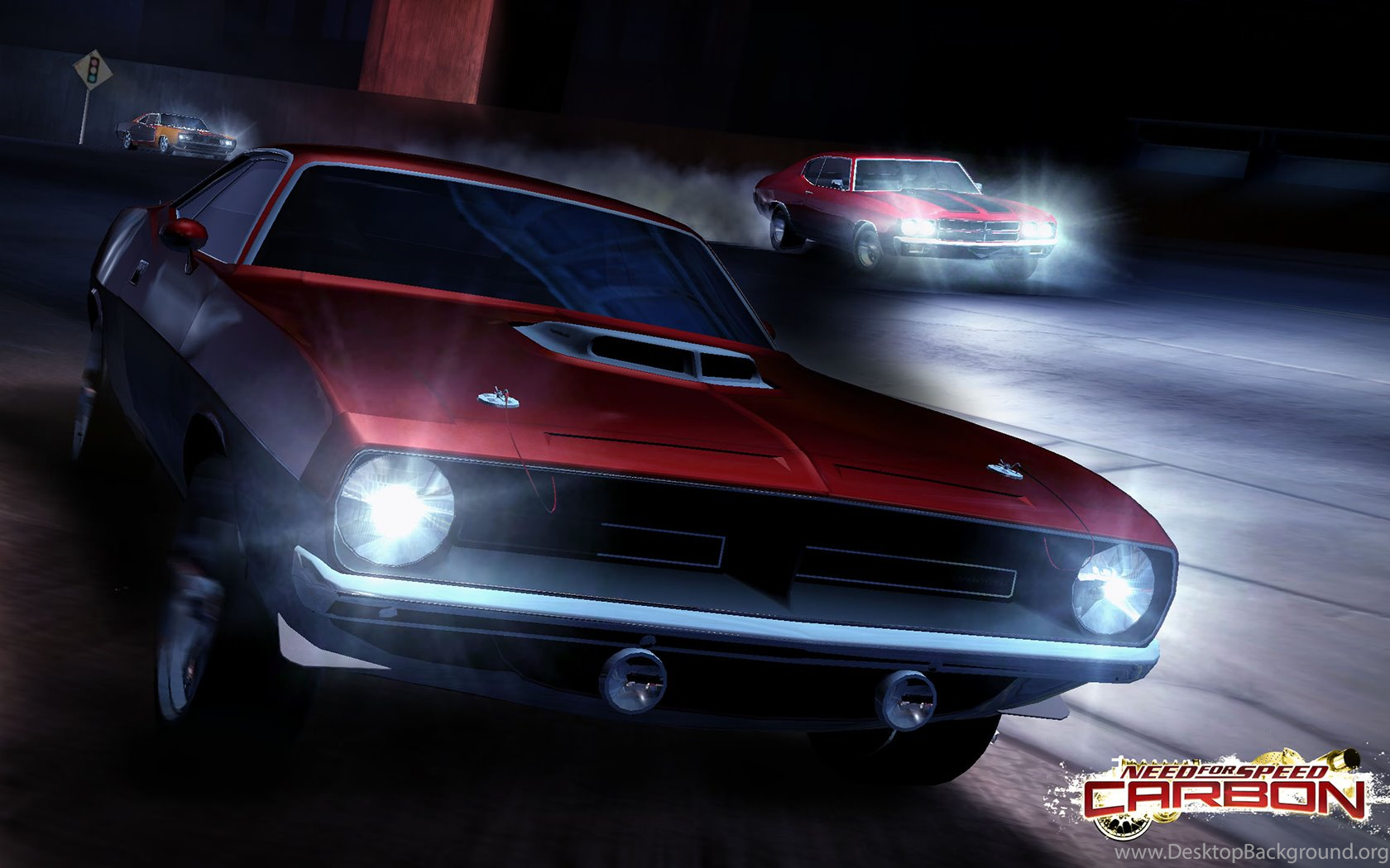 Hemi Cuda Need For Speed Carbon Cars Games Desktop Background
