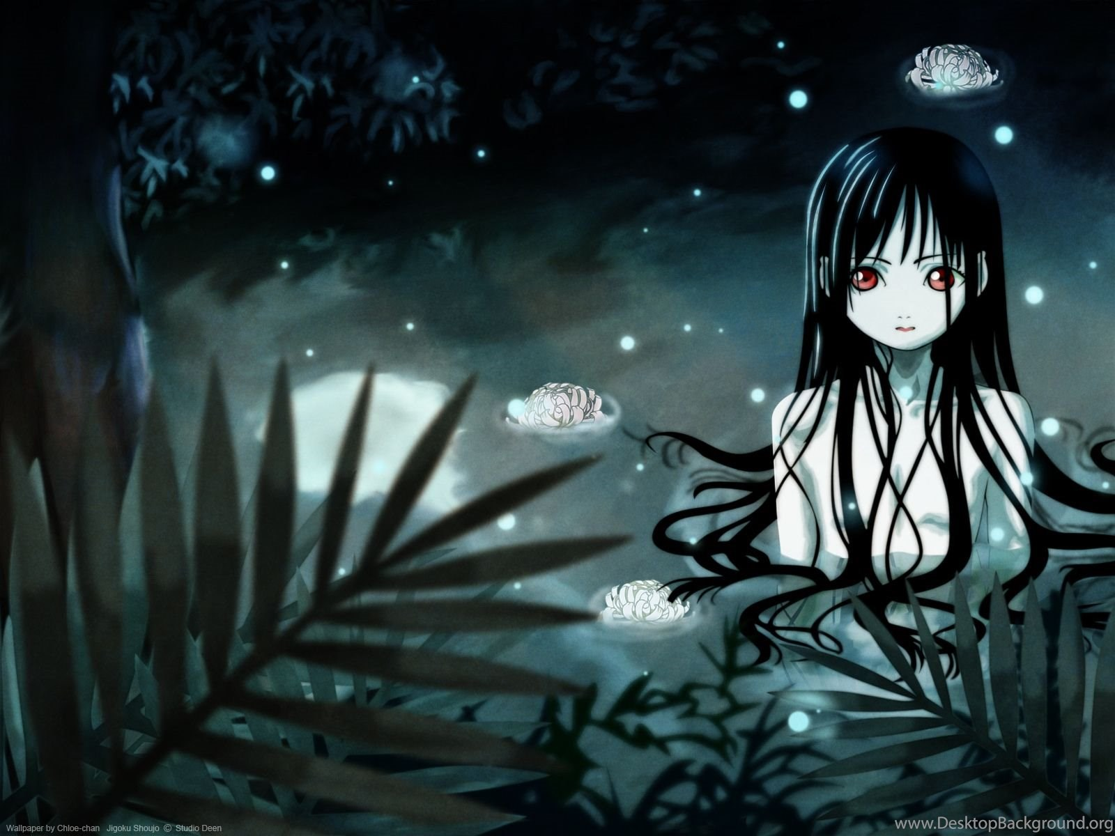 Muryou Anime Wallpapers Jigoku Shoujo Hell Girl Desktop Background