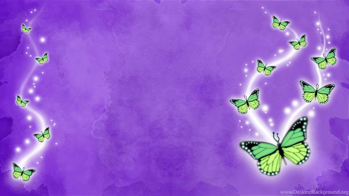 Purple Butterfly Wallpapers Desktop Background