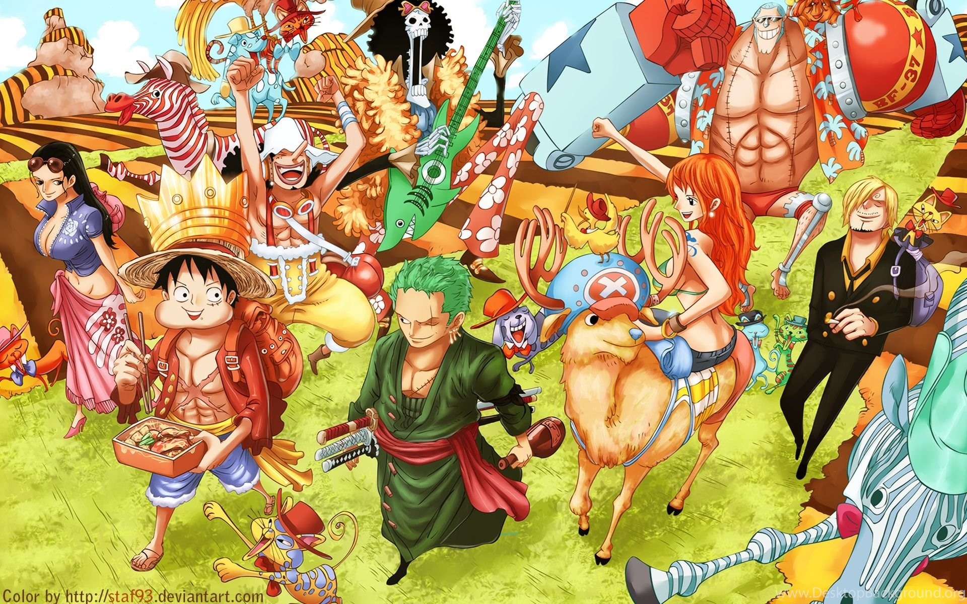 One Piece New World Wallpapers And Backgrounds 10460 Hd Desktop Background
