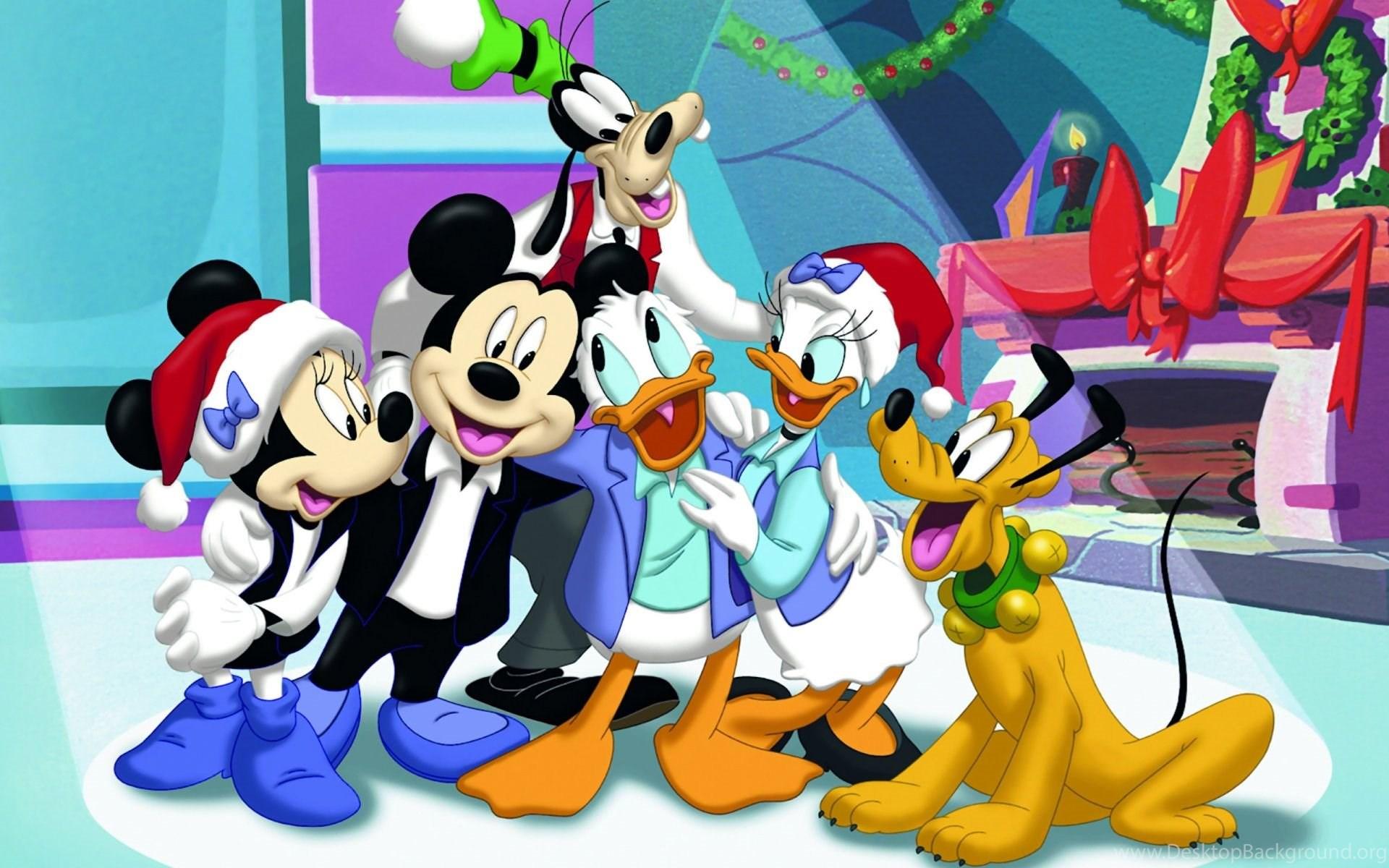 Mickey Mouse Navideno Wallpaper