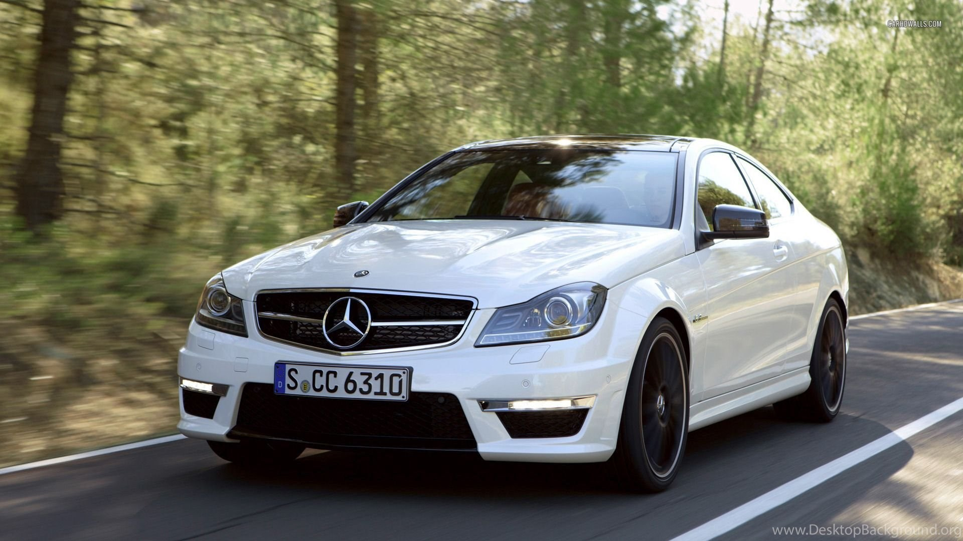 mercedes benz c class c 63 amg coupe 2012 1920x1080 wallpapers