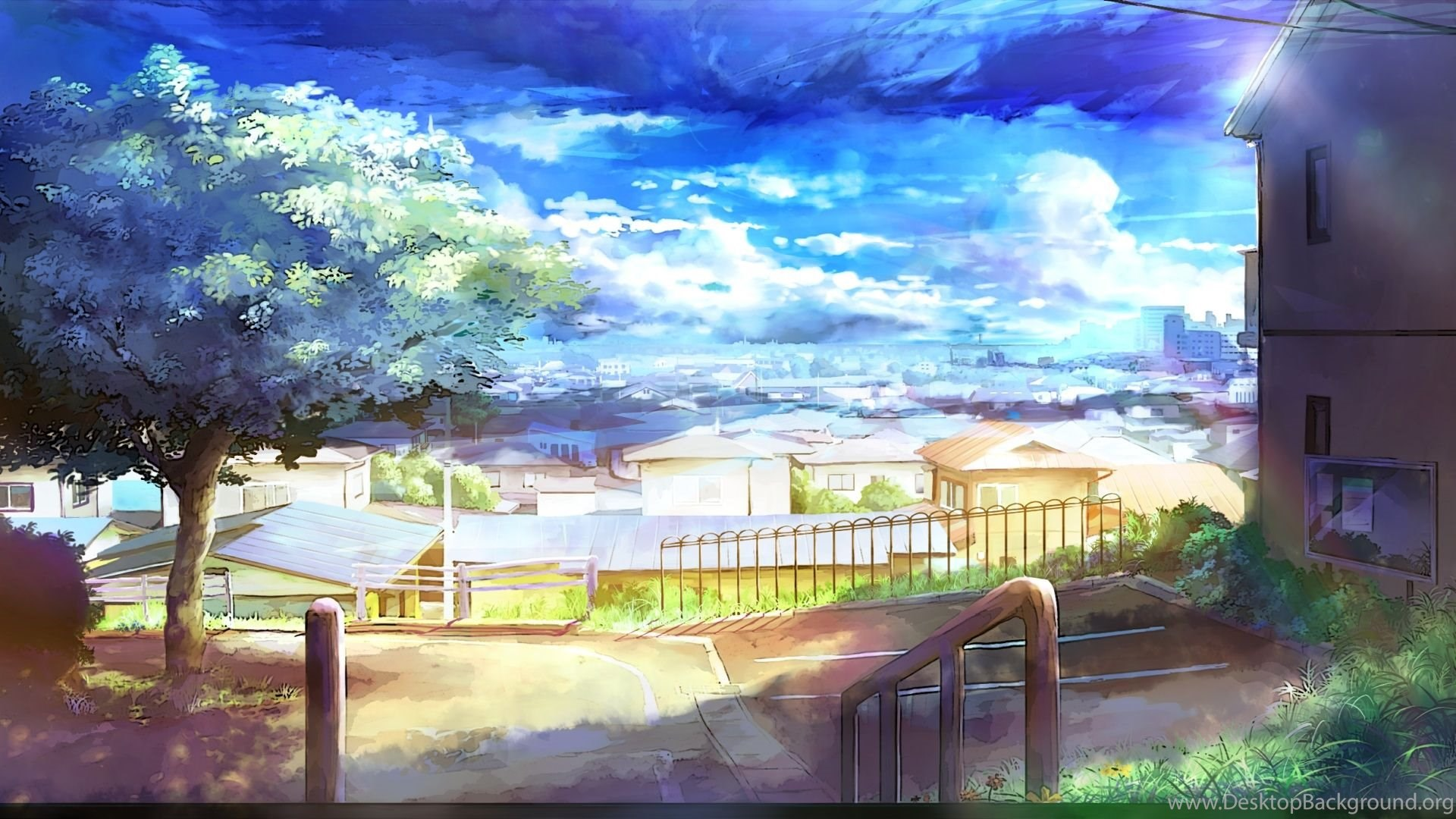 anime city scenery wallpapers widescreen 2 hd wallpapers desktop