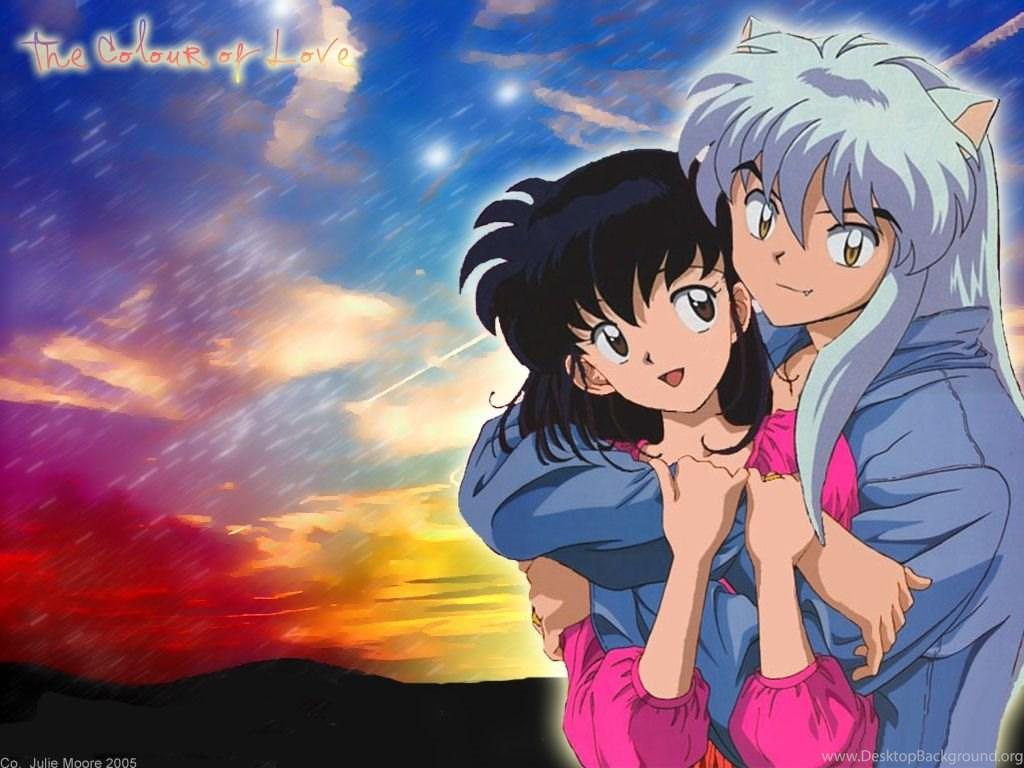 Download Inuyasha Kagome Anime Wallpapers 1024x768 Desktop Background