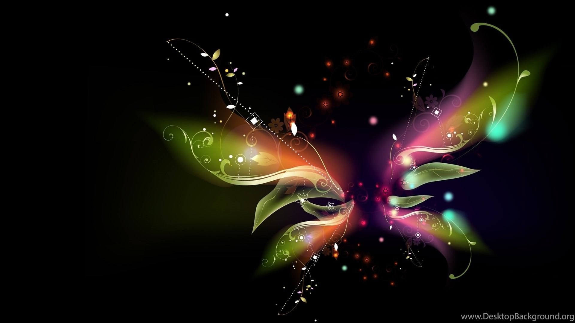 Abstract Butterfly Wings Wallpapers HD Desktop Background