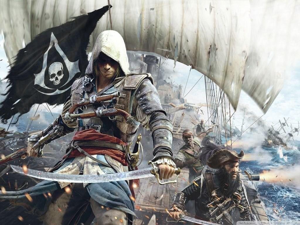 Assassin S Creed Iv Black Flag Hd Desktop Wallpapers Widescreen