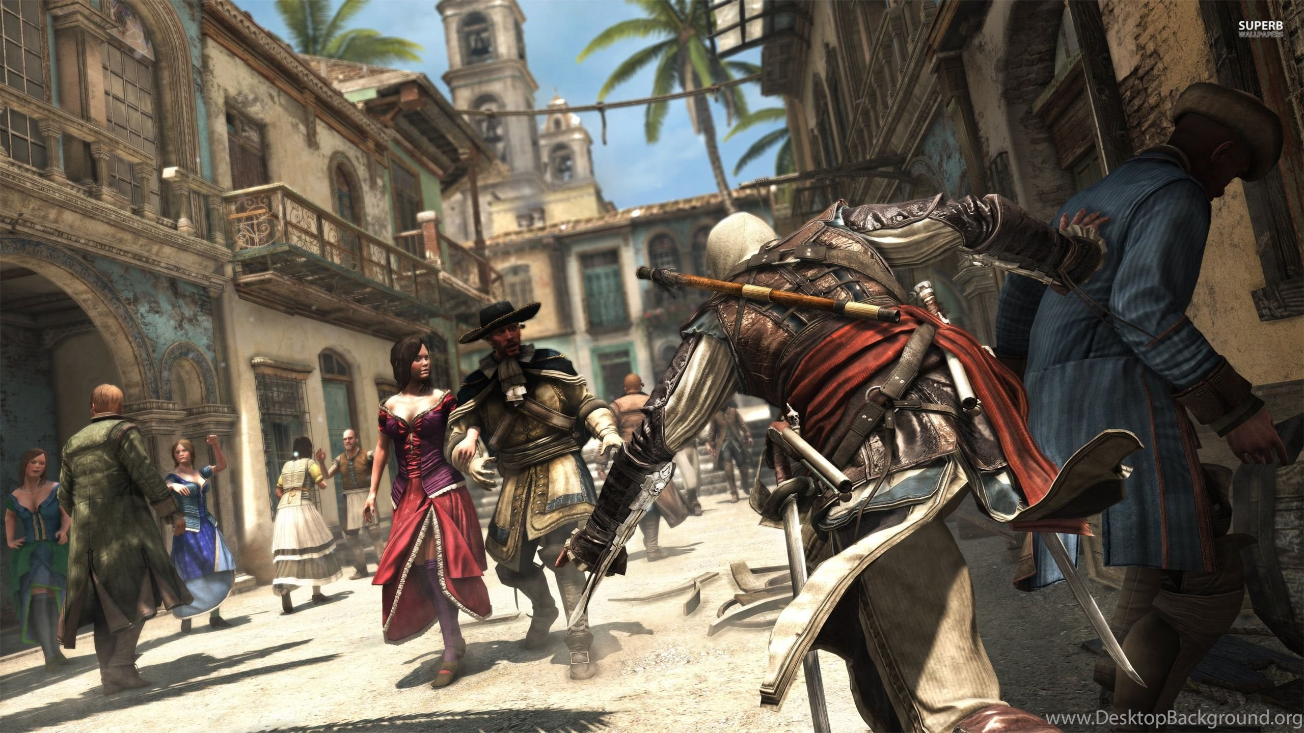 Edward Kenway Assassin S Creed Iv Black Flag Wallpapers Game