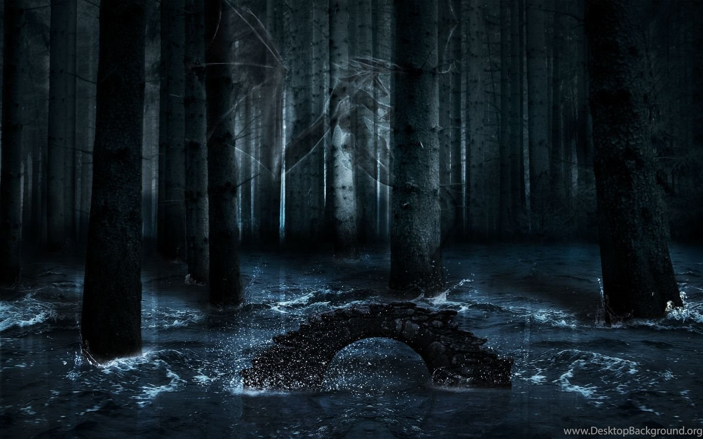 Gallery For Dark Enchanted Forest Backgrounds Value Desktop Background