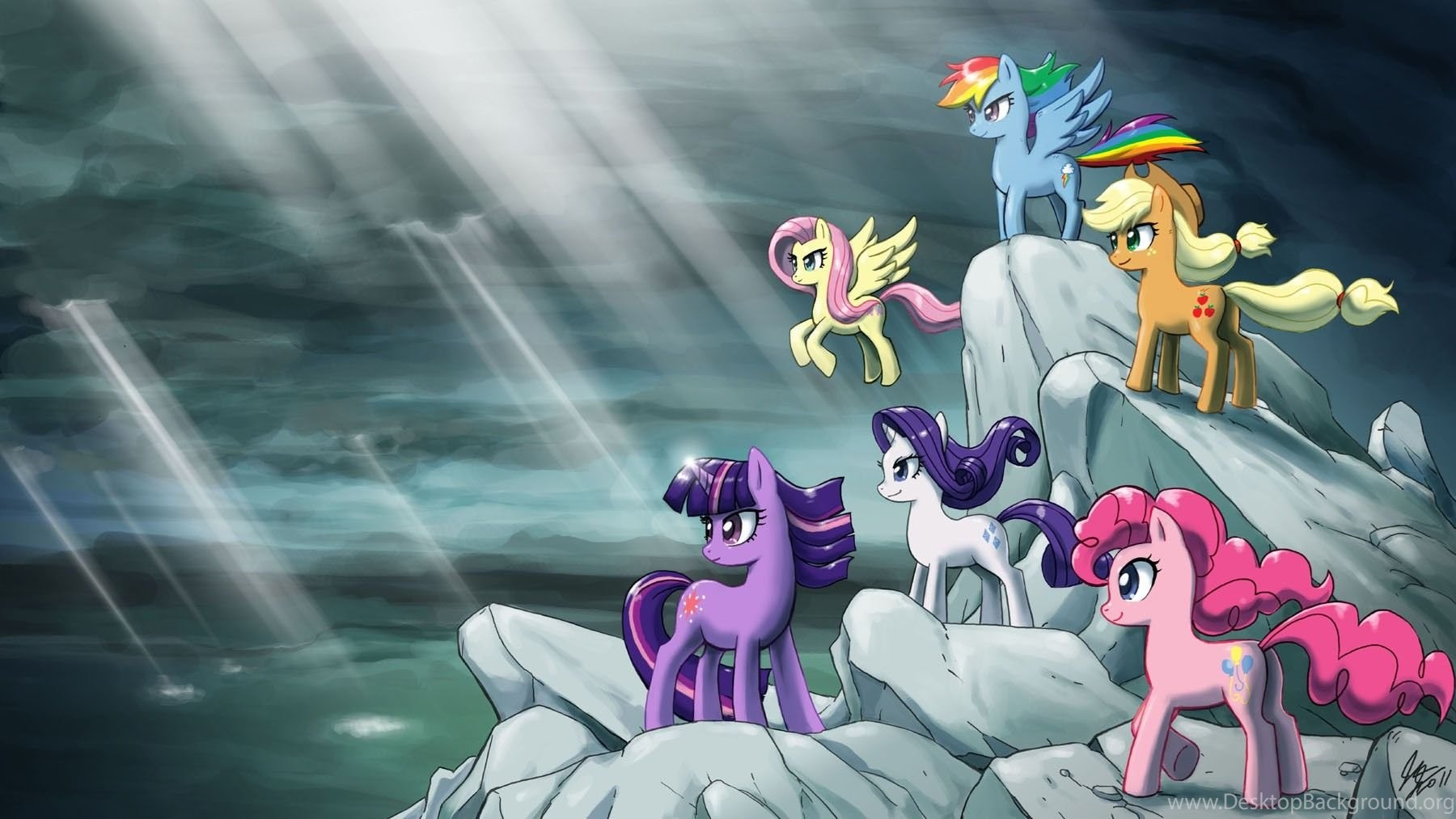 Free My Little Pony Wallpapers Desktop Background