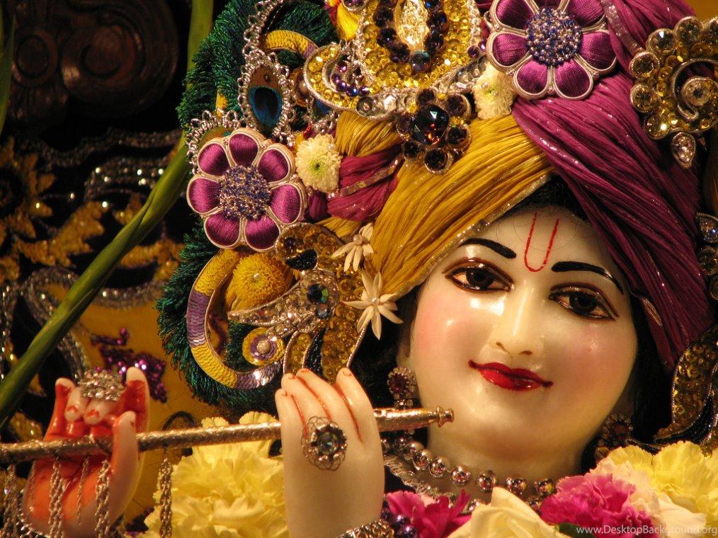 3d God Krishna Mobile Hd Wallpapers Desktop Background