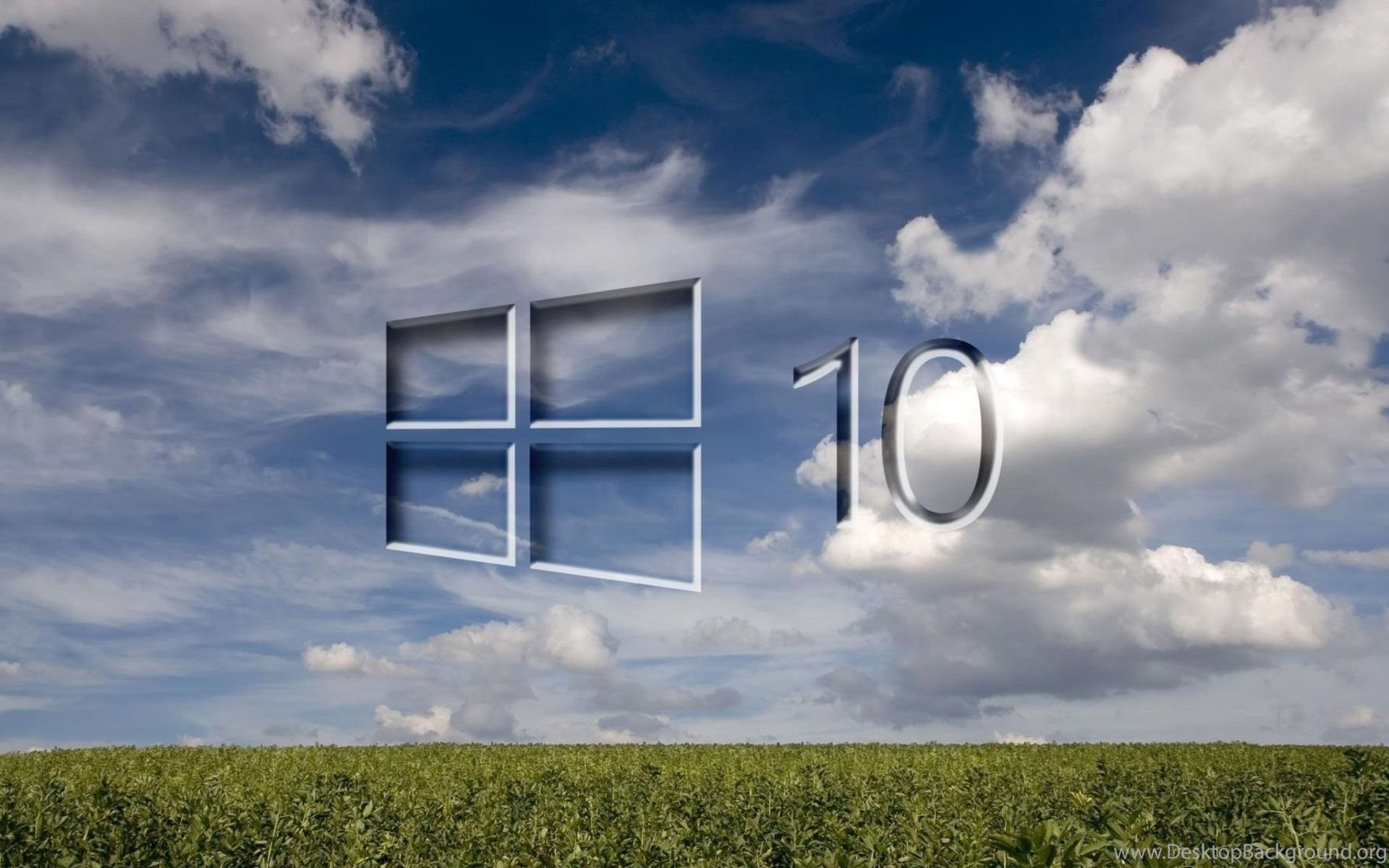 Windows 10 Grass Field 1920x1200 Jpg Desktop Background