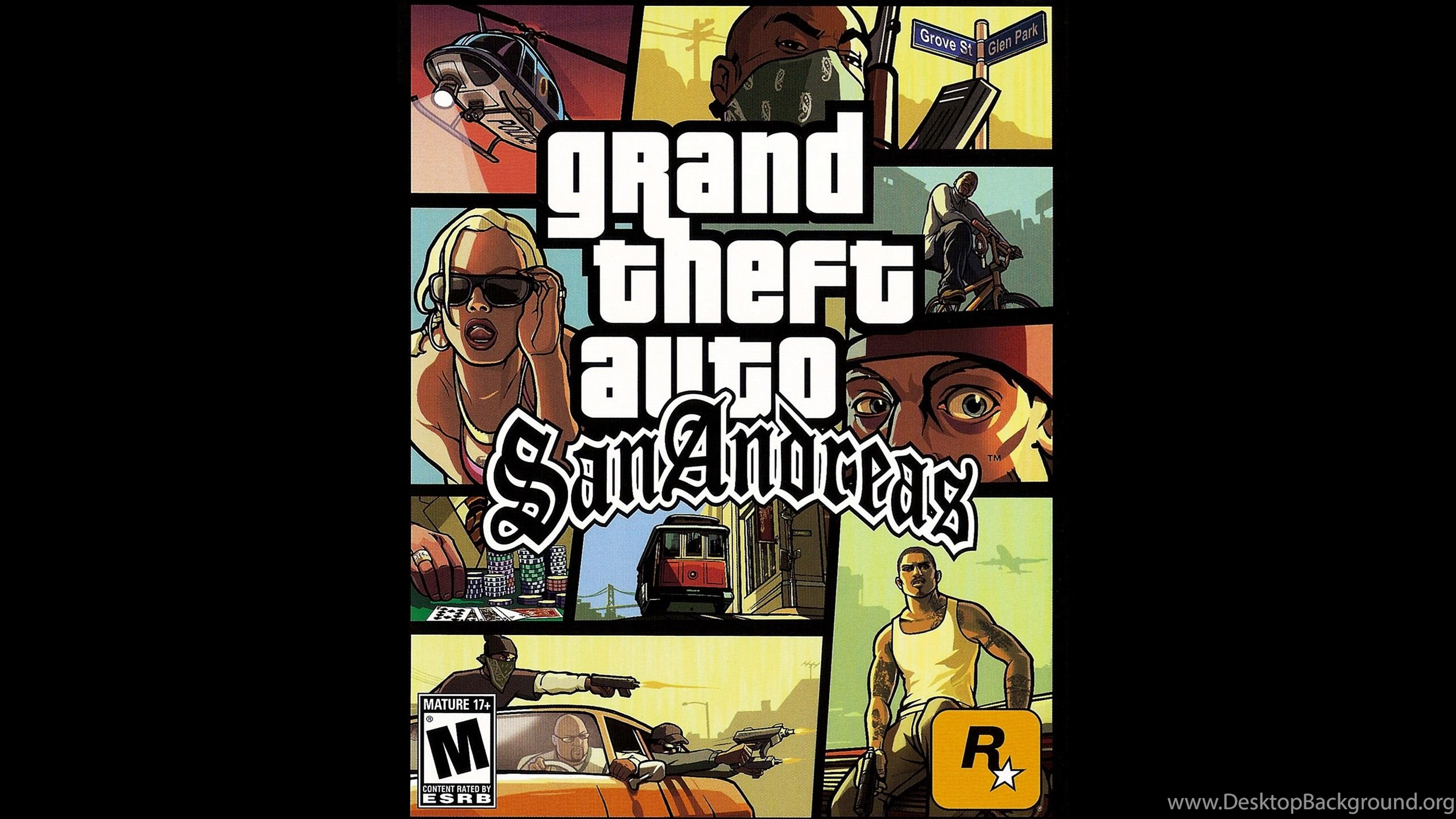 Grand Theft Auto San Andreas Desktop Background