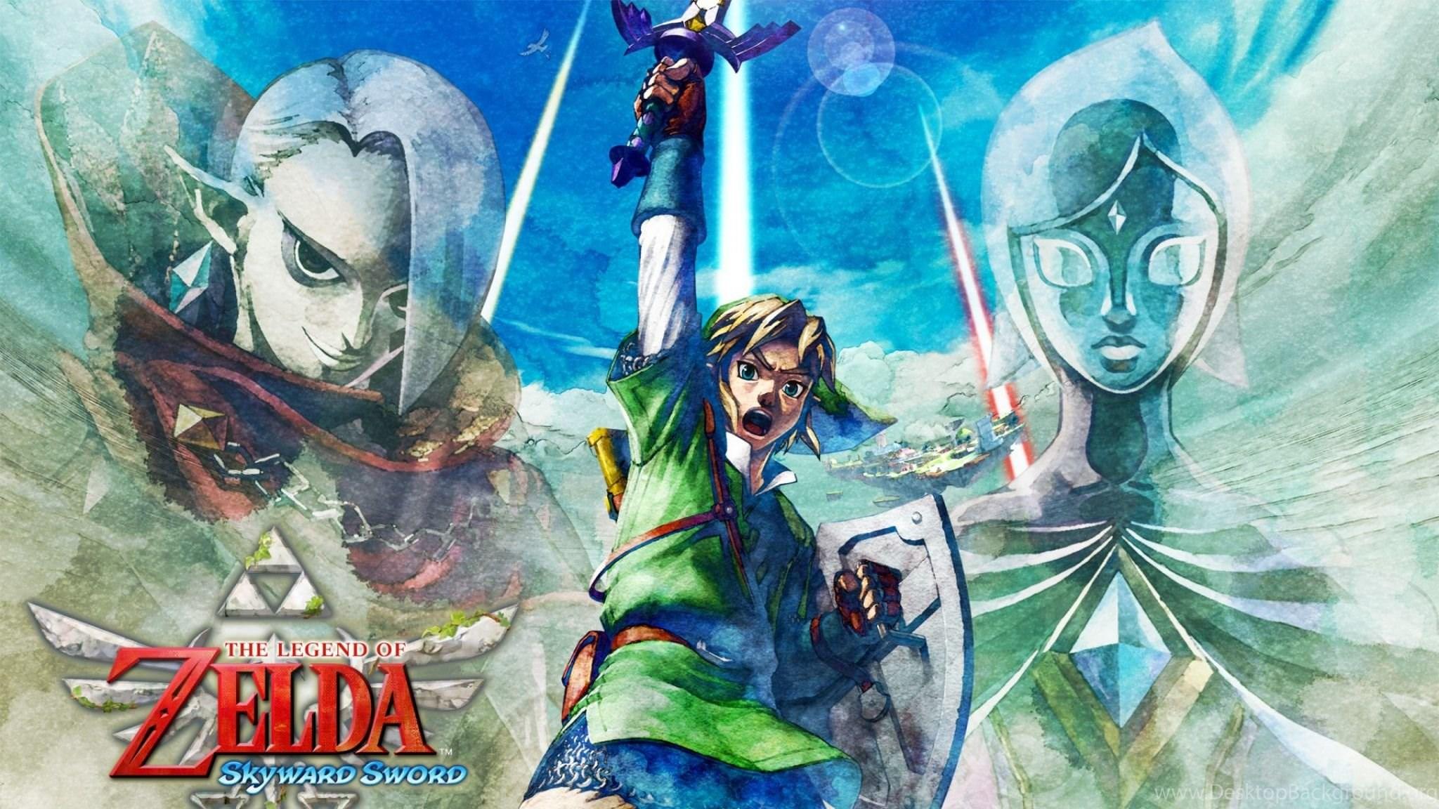 Download Wallpapers 2048x1152 The Legend Of Zelda Skyward