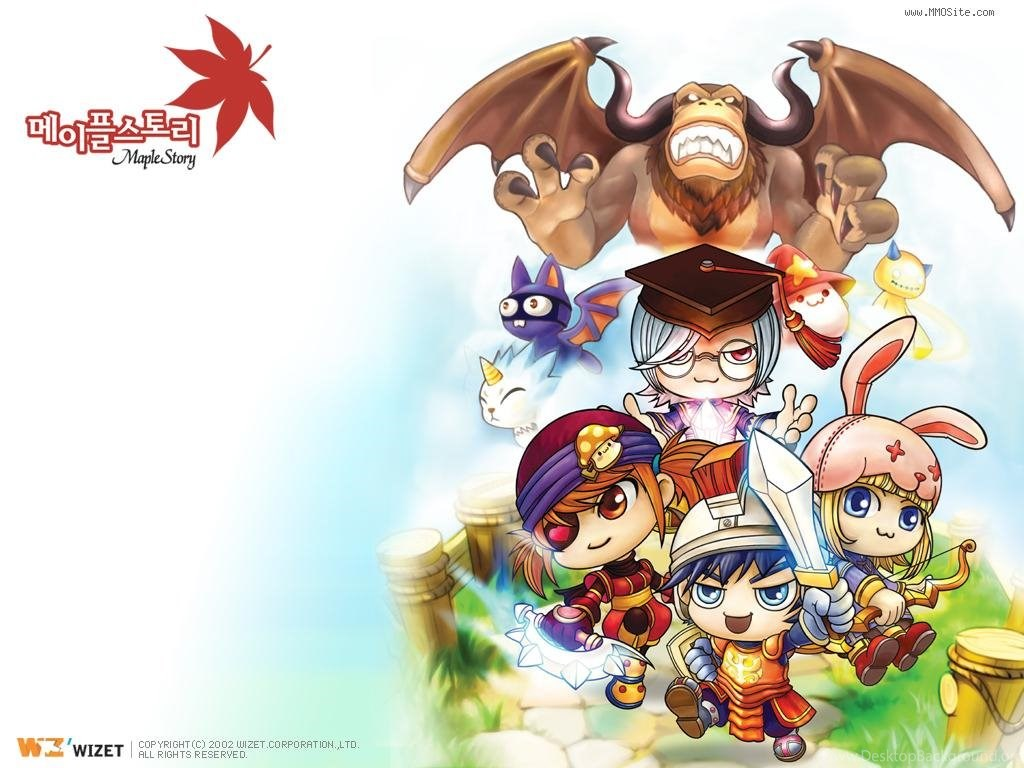 Maple Story Wallpapers Maplestory Photo Mmosite Com Desktop Background