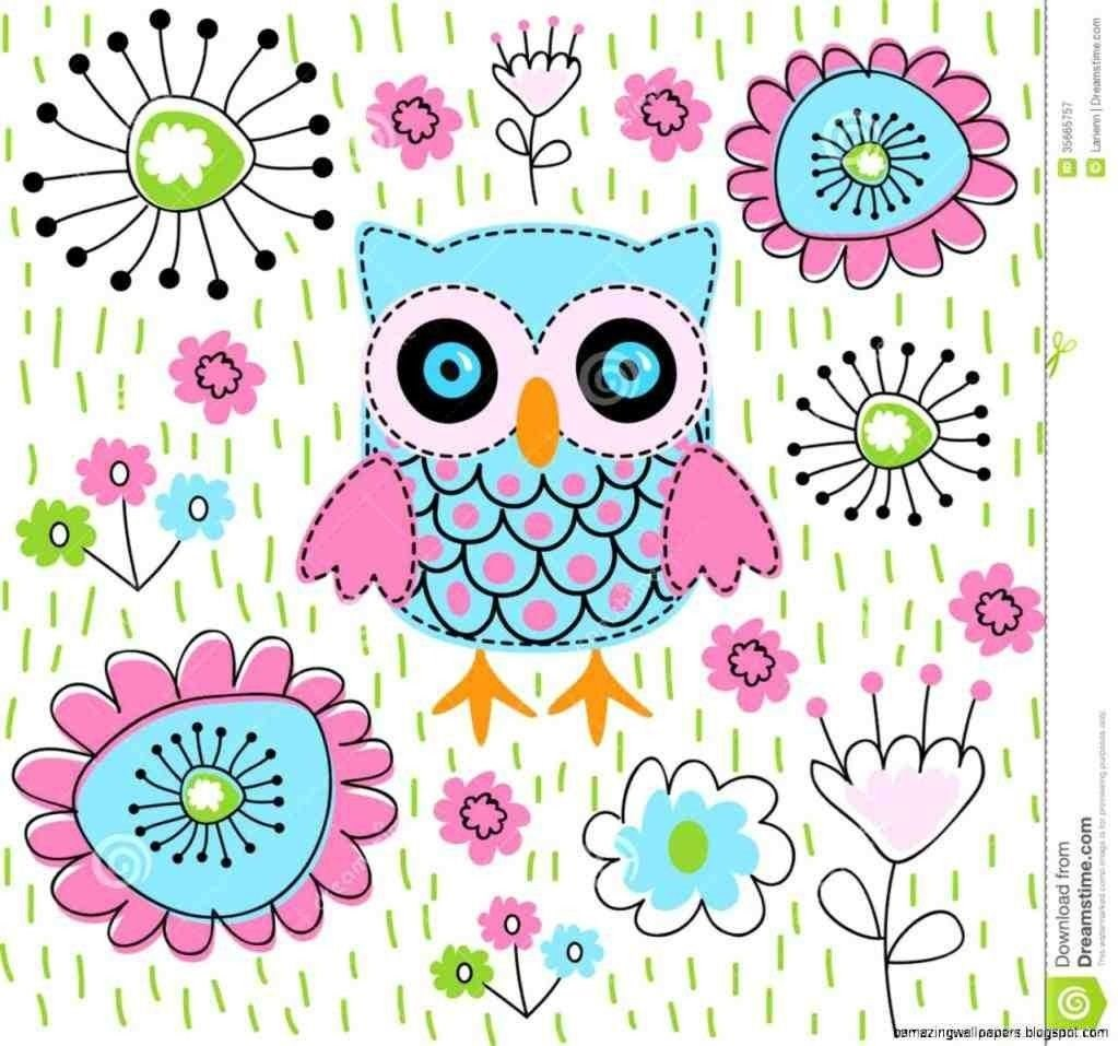 Cute Girly Owl Wallpapers Dalbanbiz Desktop Background