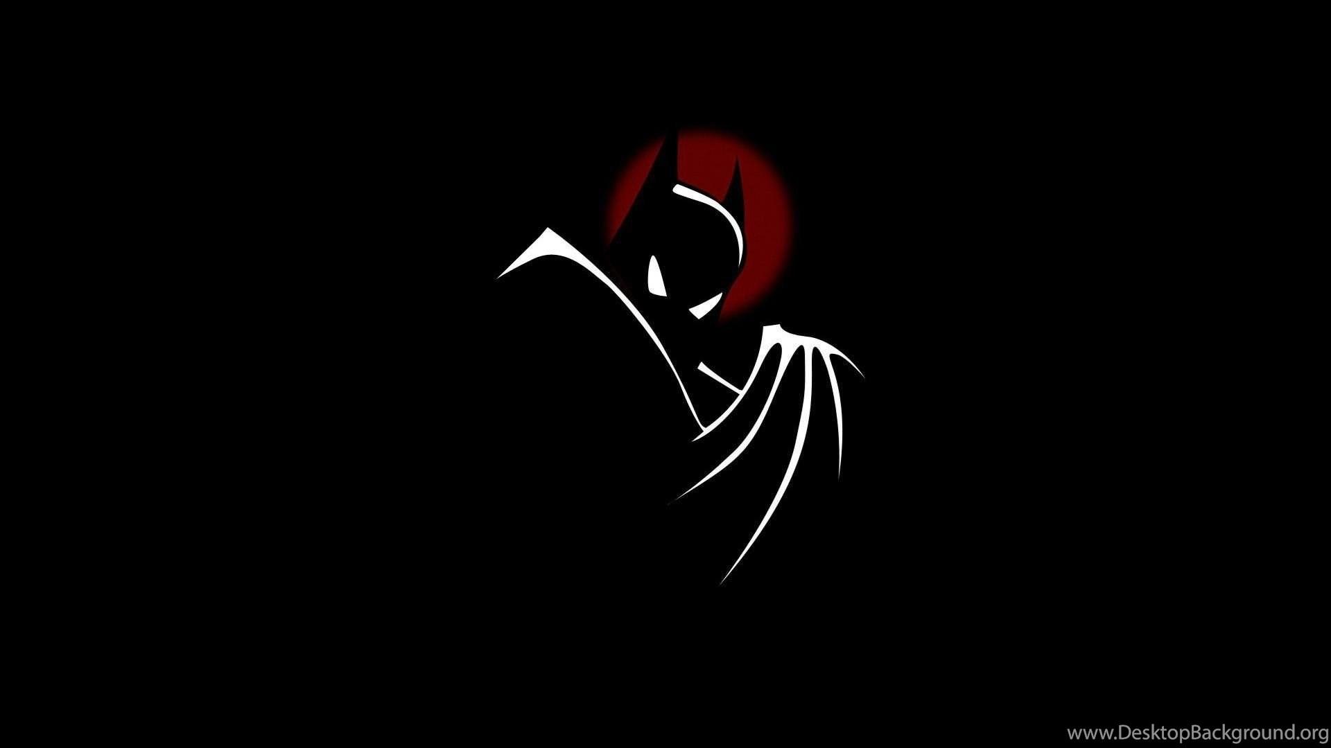 Batman Black Minimalistic Comic Wallpapers Desktop Background