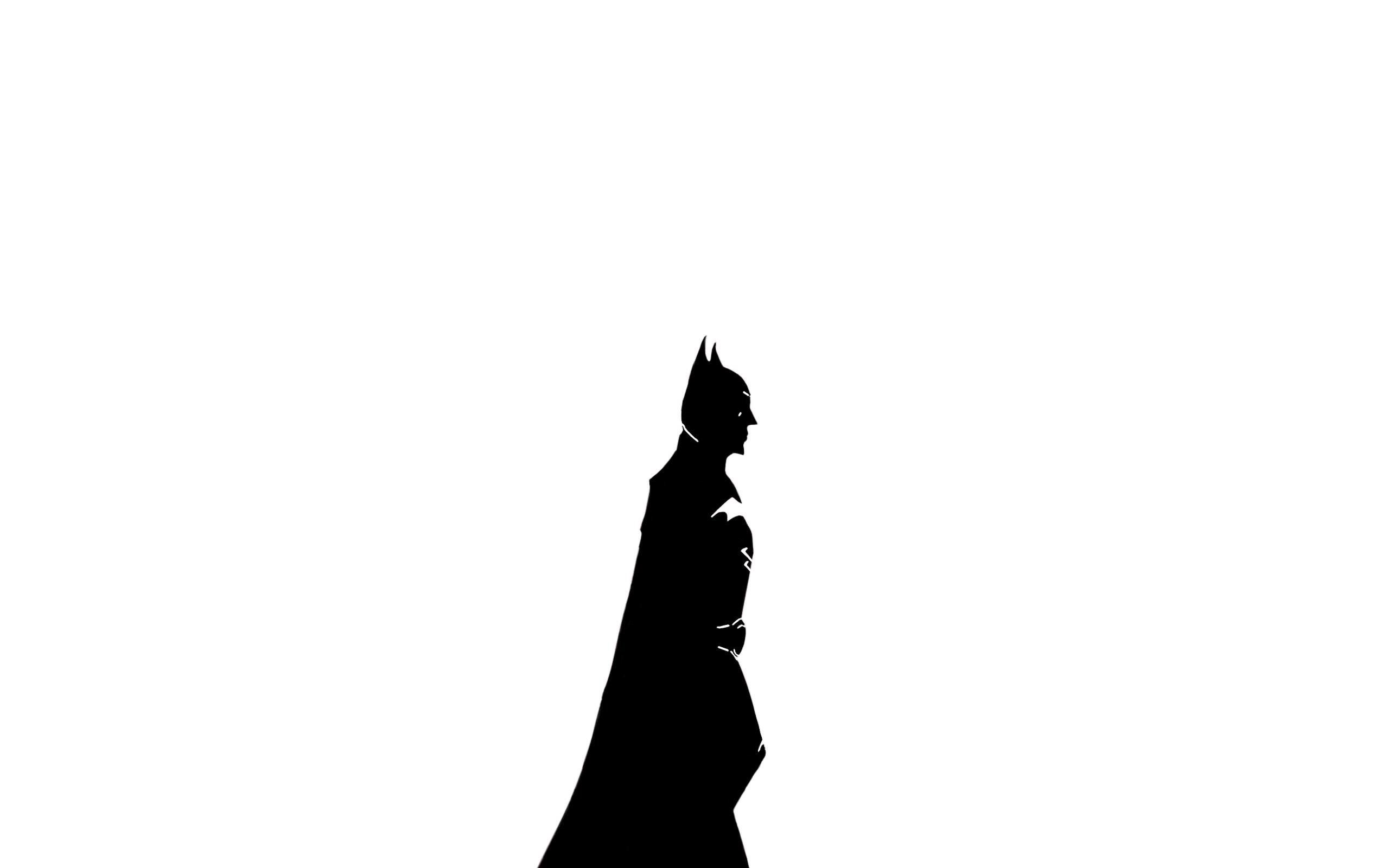 Batman Wallpaper White Version By Zachzaki On Deviantart Desktop