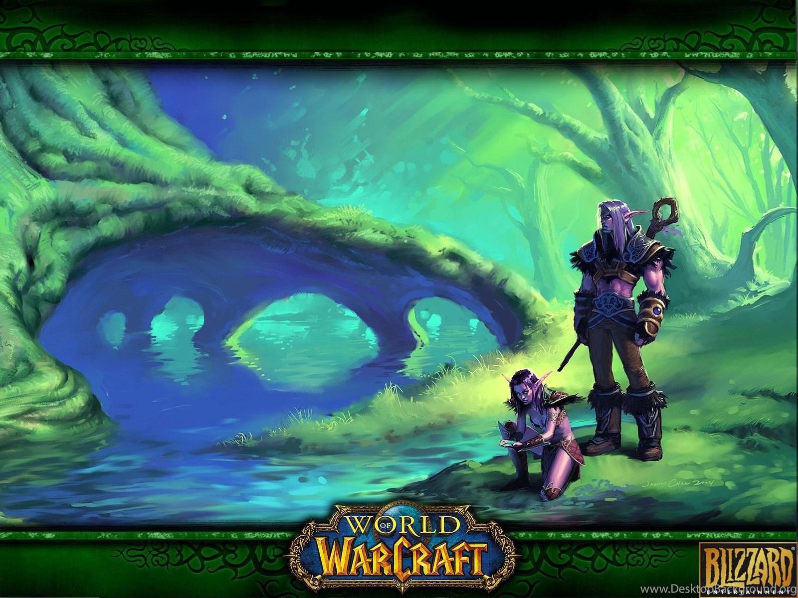 World Of Warcraft Night Elf Wallpapers 141166 Desktop Background