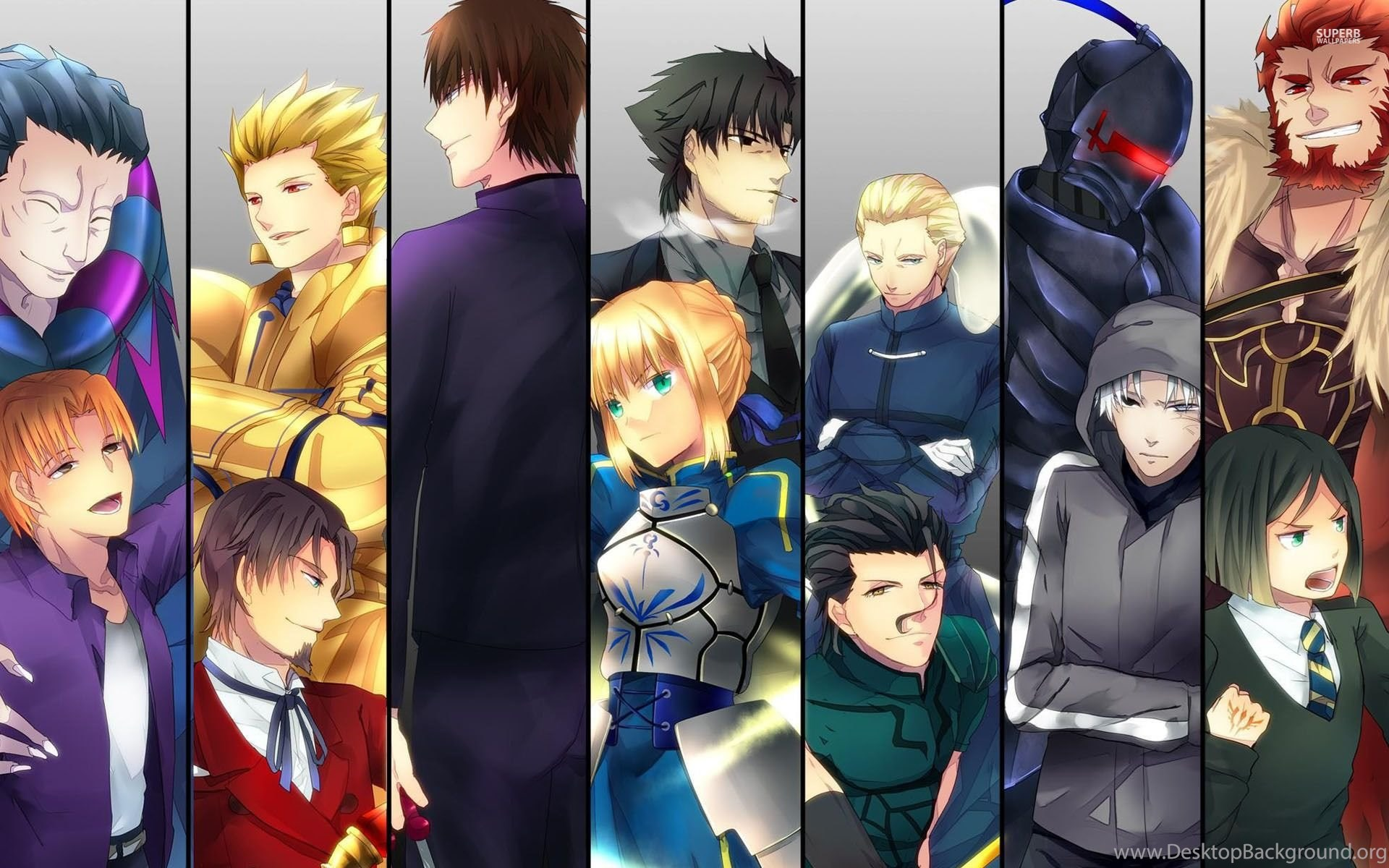 fate/stay night wallpapers anime wallpapers desktop background