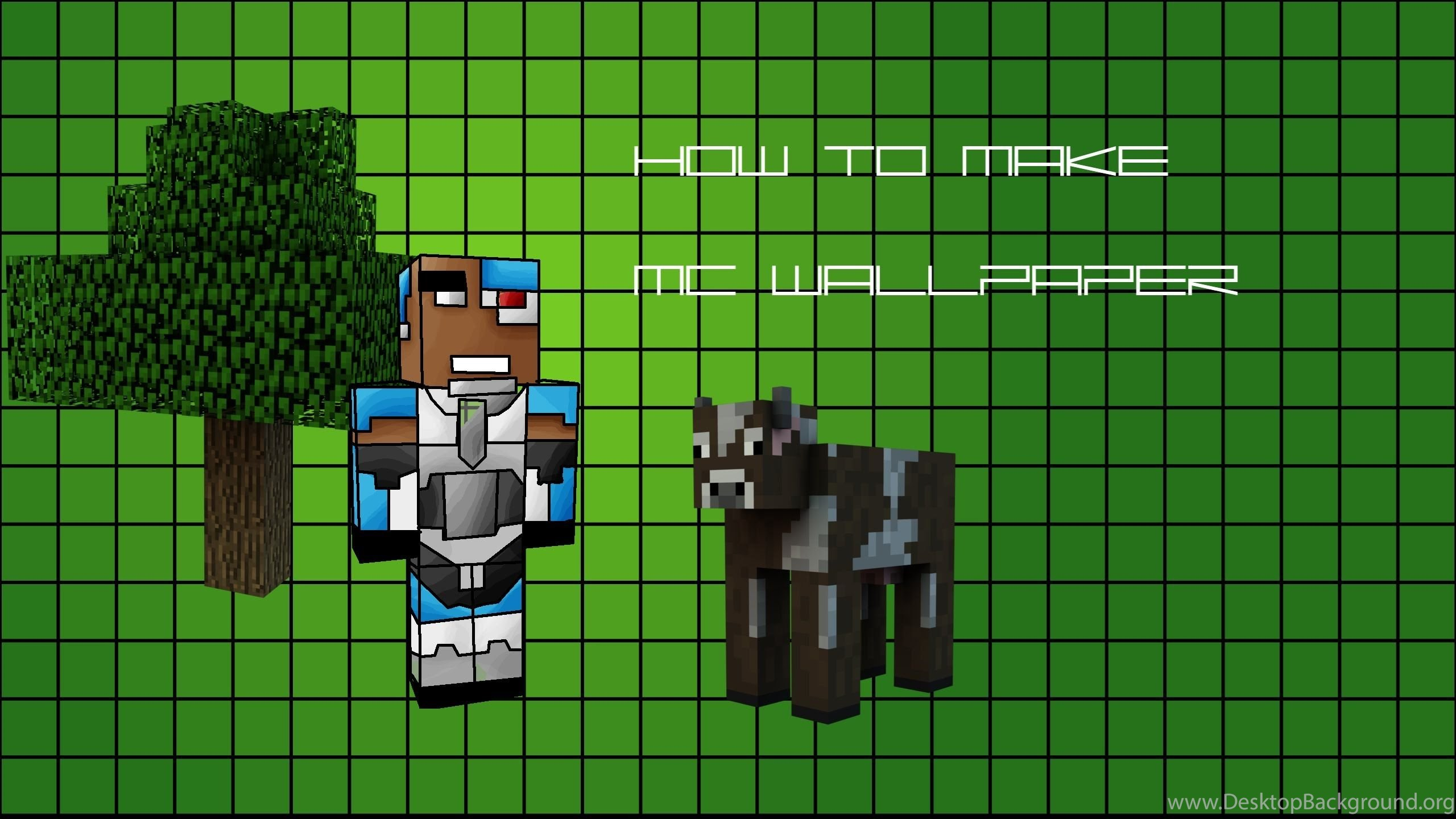 How To Make An Awesome Minecraft Wallpapers 3d Use Your Own Skin