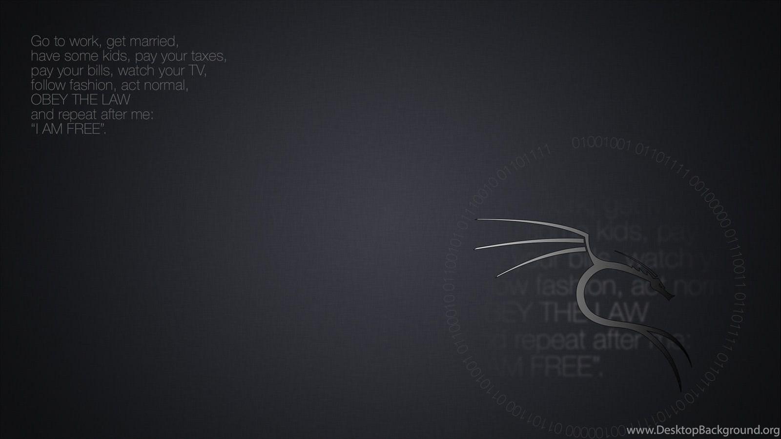 Kali Linux Wallpapers I Am Free Desktop Background