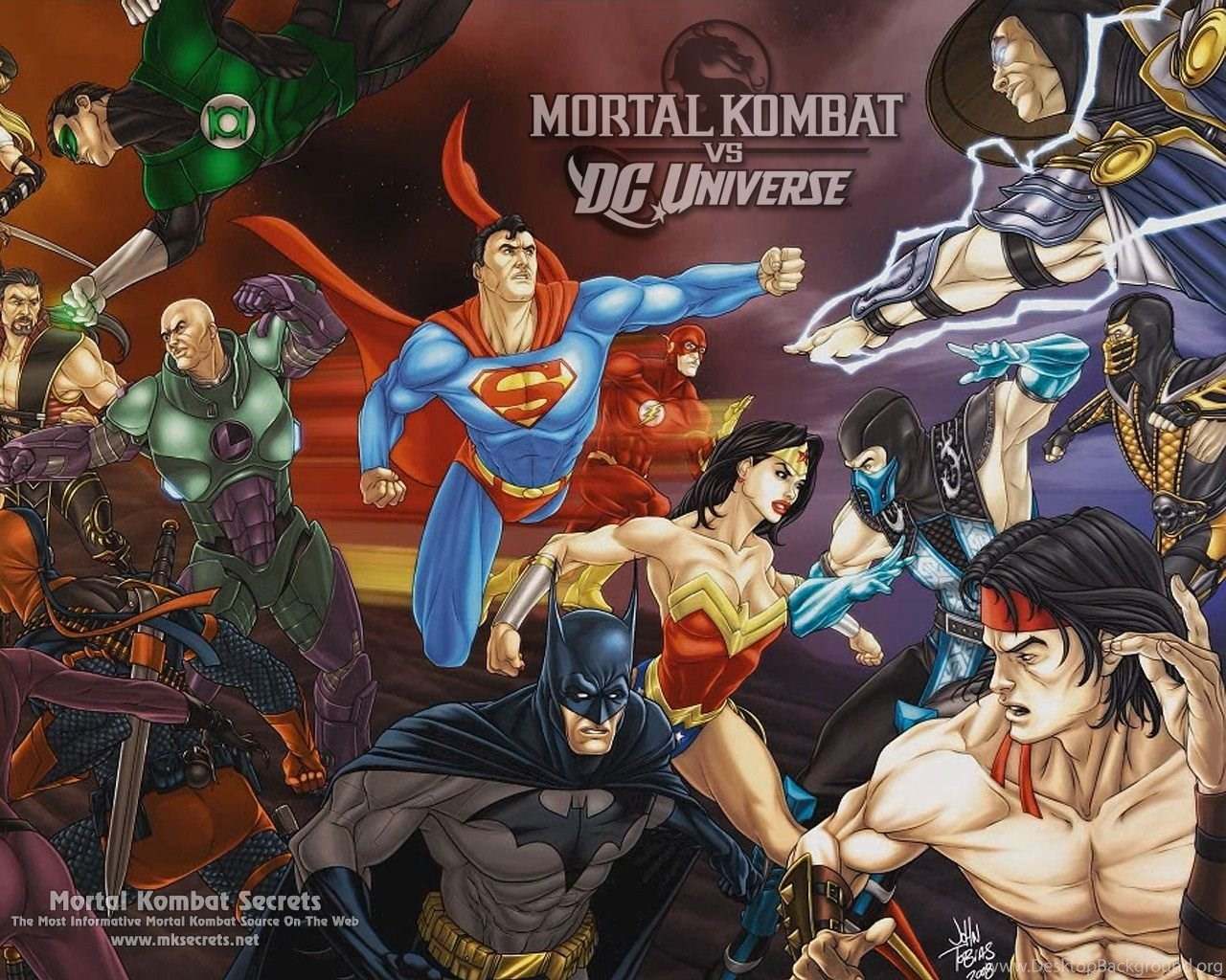 Mortal Kombat VS  DC Universe News Mortal Kombat Secrets