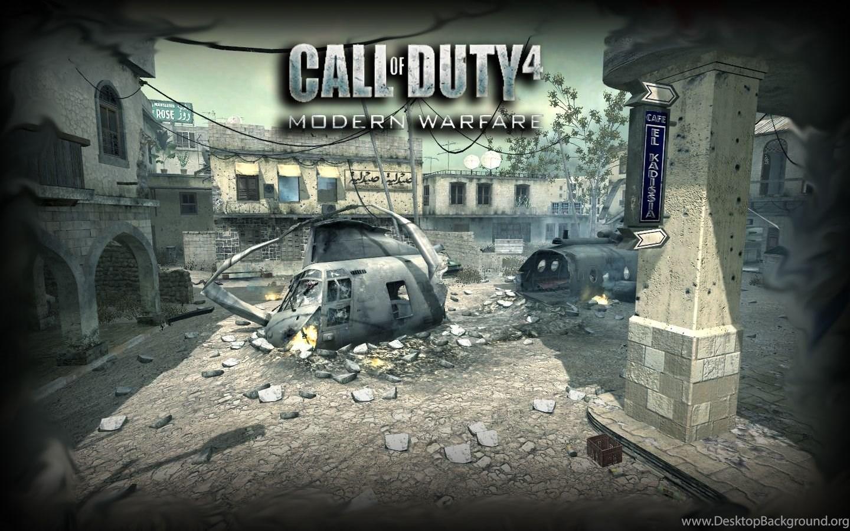 Pic New Posts Call Of Duty 4 Wallpapers For Desktop Desktop