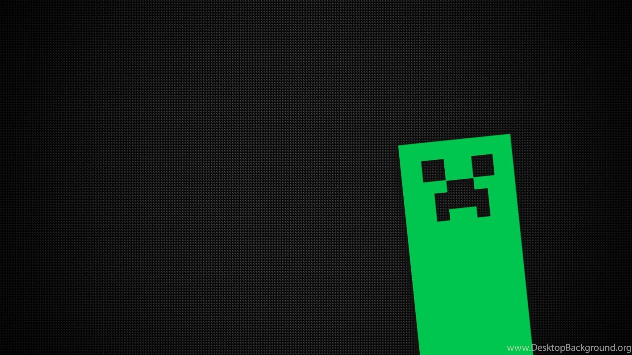 Minecraft Creeper 2048x1152 Www Topsimages Com